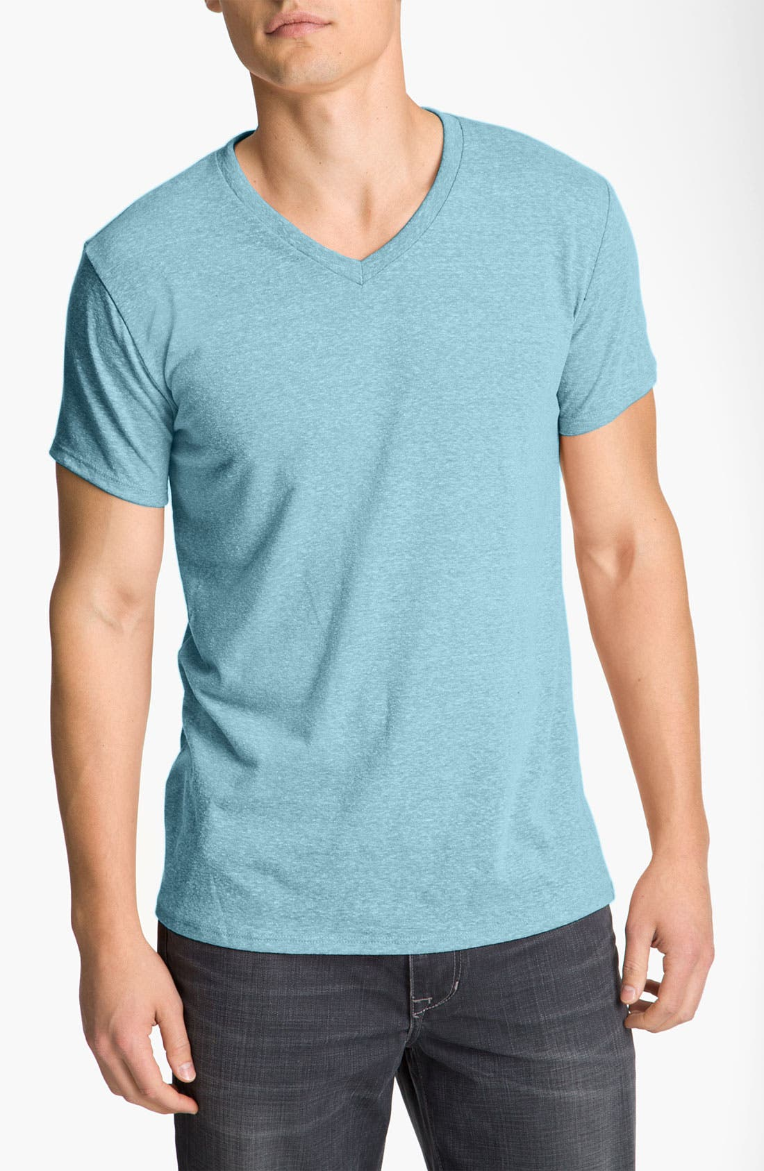 Threads for Thought Heather V-Neck,                             Main thumbnail 9, color,