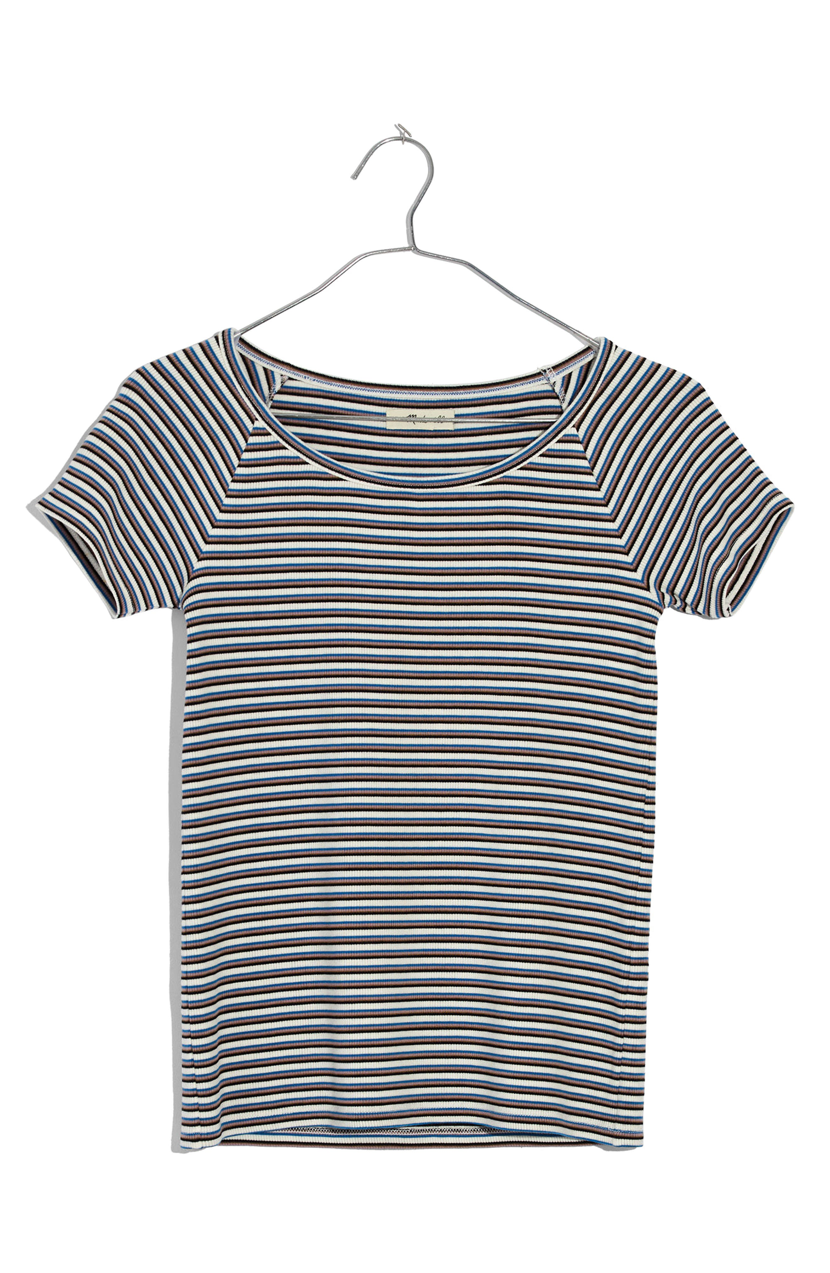 Canal Stripe Top,                             Alternate thumbnail 3, color,                             400