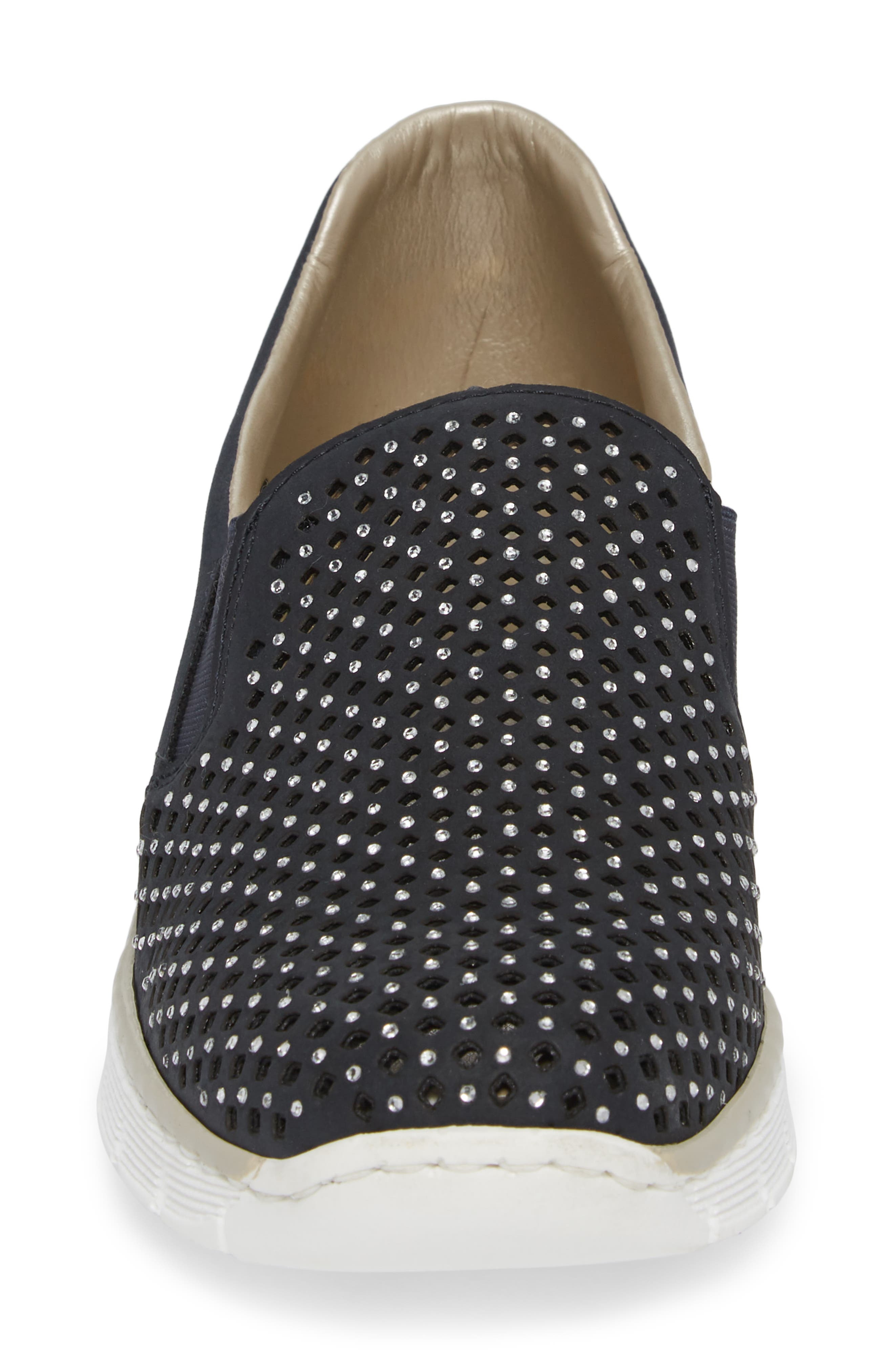 Doris A6 Wedge Sneaker,                             Alternate thumbnail 4, color,                             401