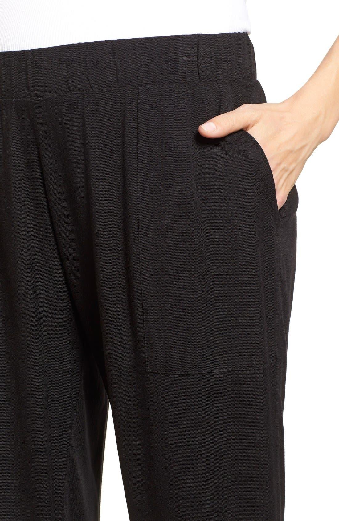'Jenna' Maternity Pants,                             Alternate thumbnail 5, color,