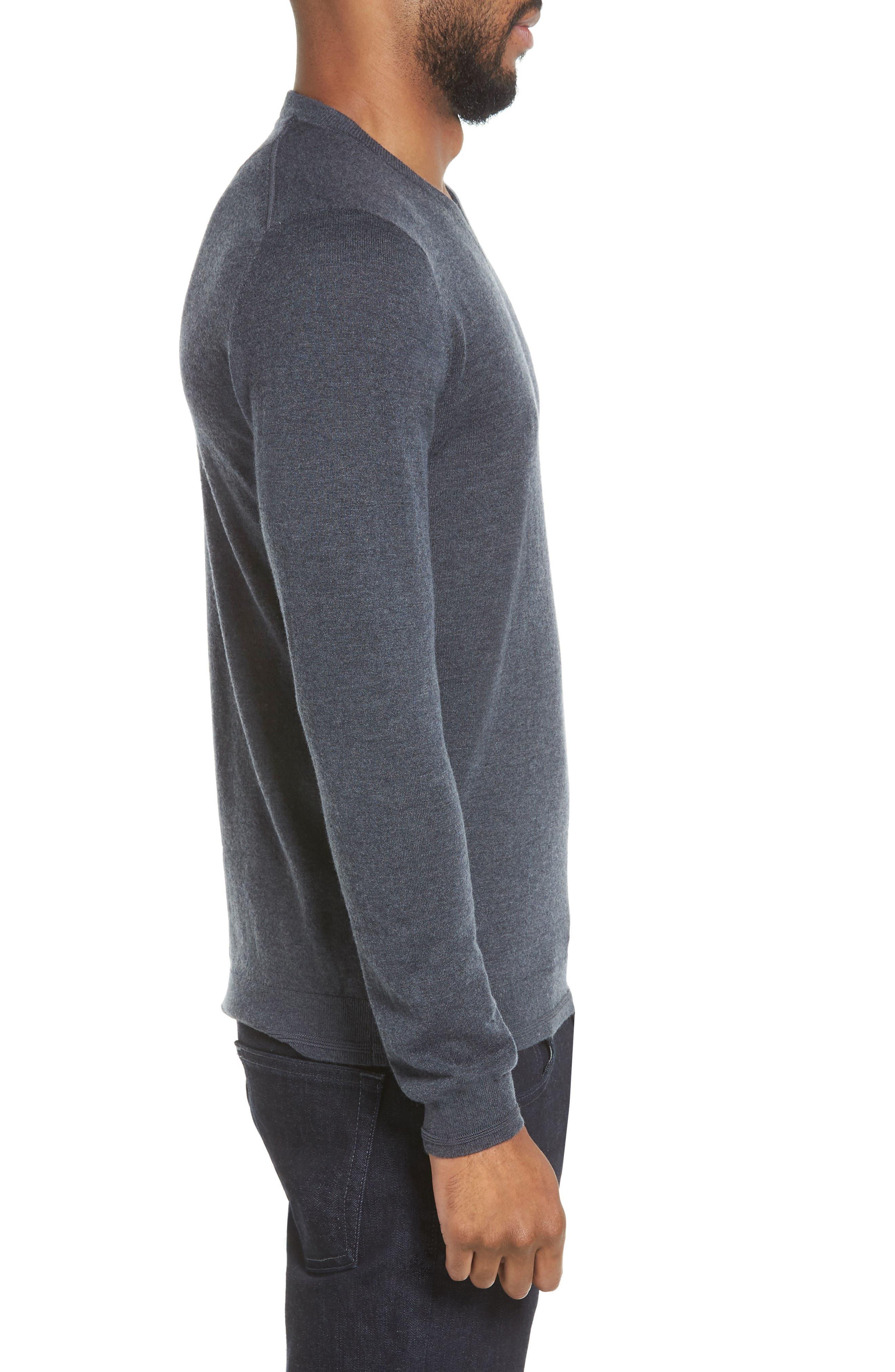 V-Neck Sweater,                             Alternate thumbnail 10, color,