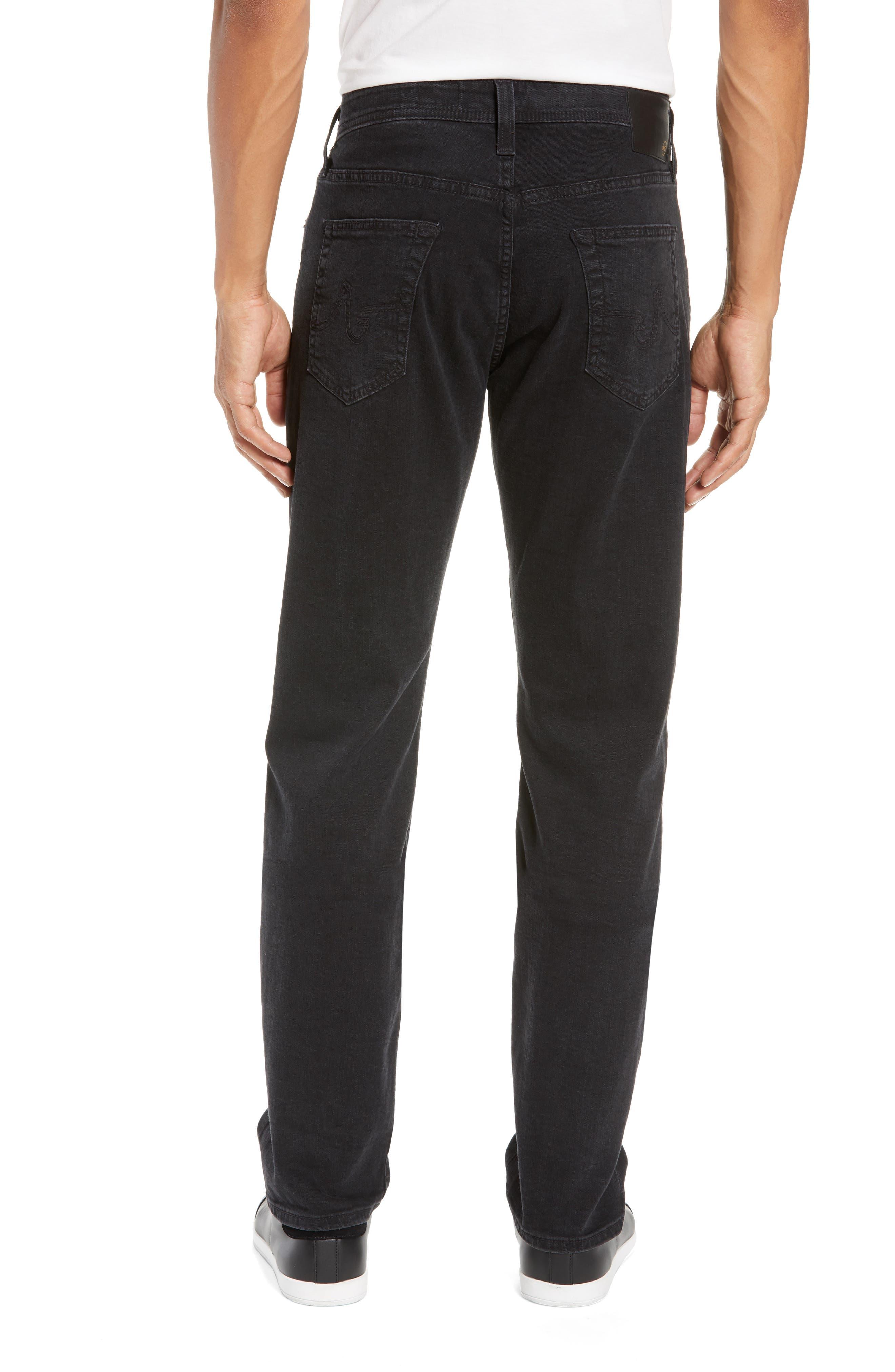 Everett Slim Straight Leg Jeans,                             Alternate thumbnail 2, color,                             BRIMSTONE
