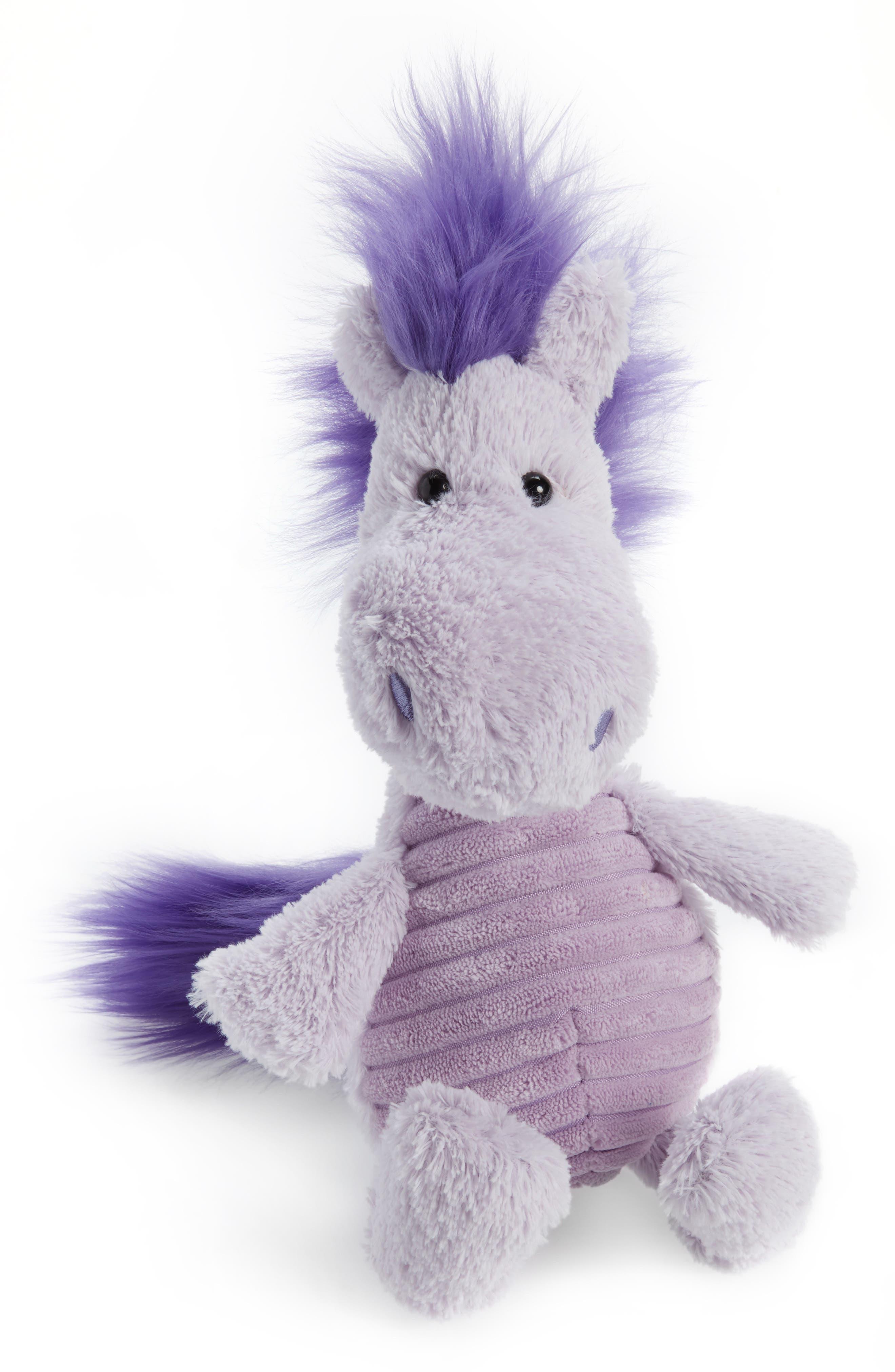 Snagglebaggle Penny Pony Stuffed Animal,                         Main,                         color, LILAC