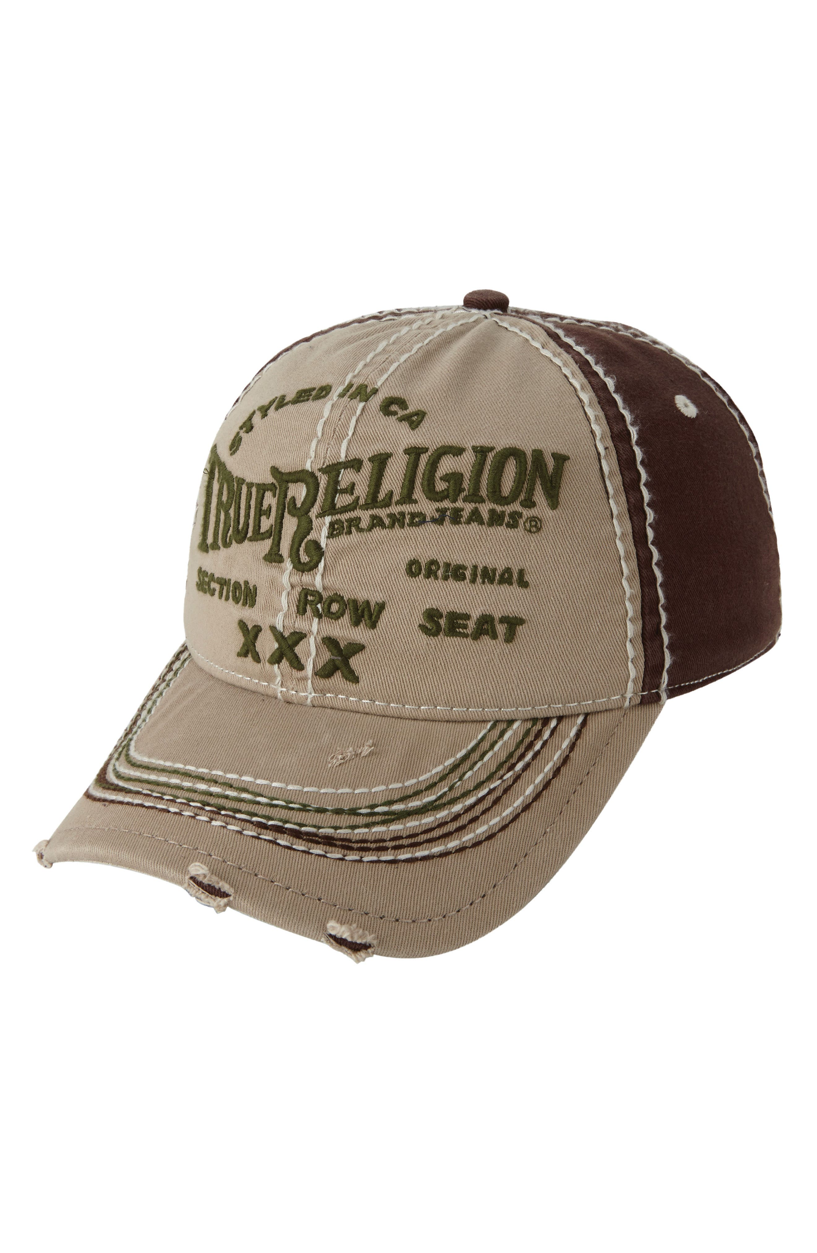 'Triple X' Baseball Cap,                             Main thumbnail 4, color,