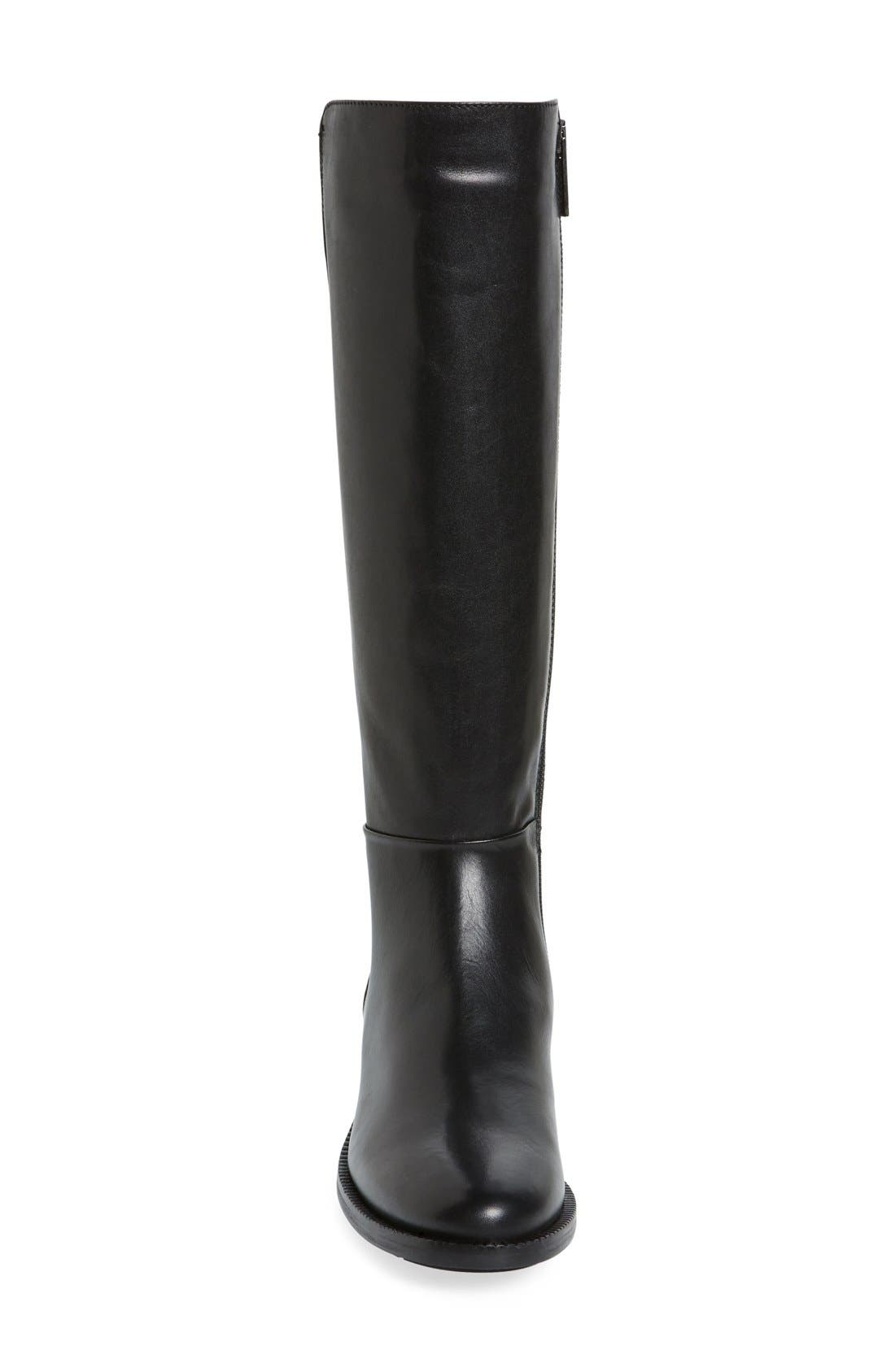 Orlena Weatherproof Tall Boot,                             Alternate thumbnail 3, color,                             001