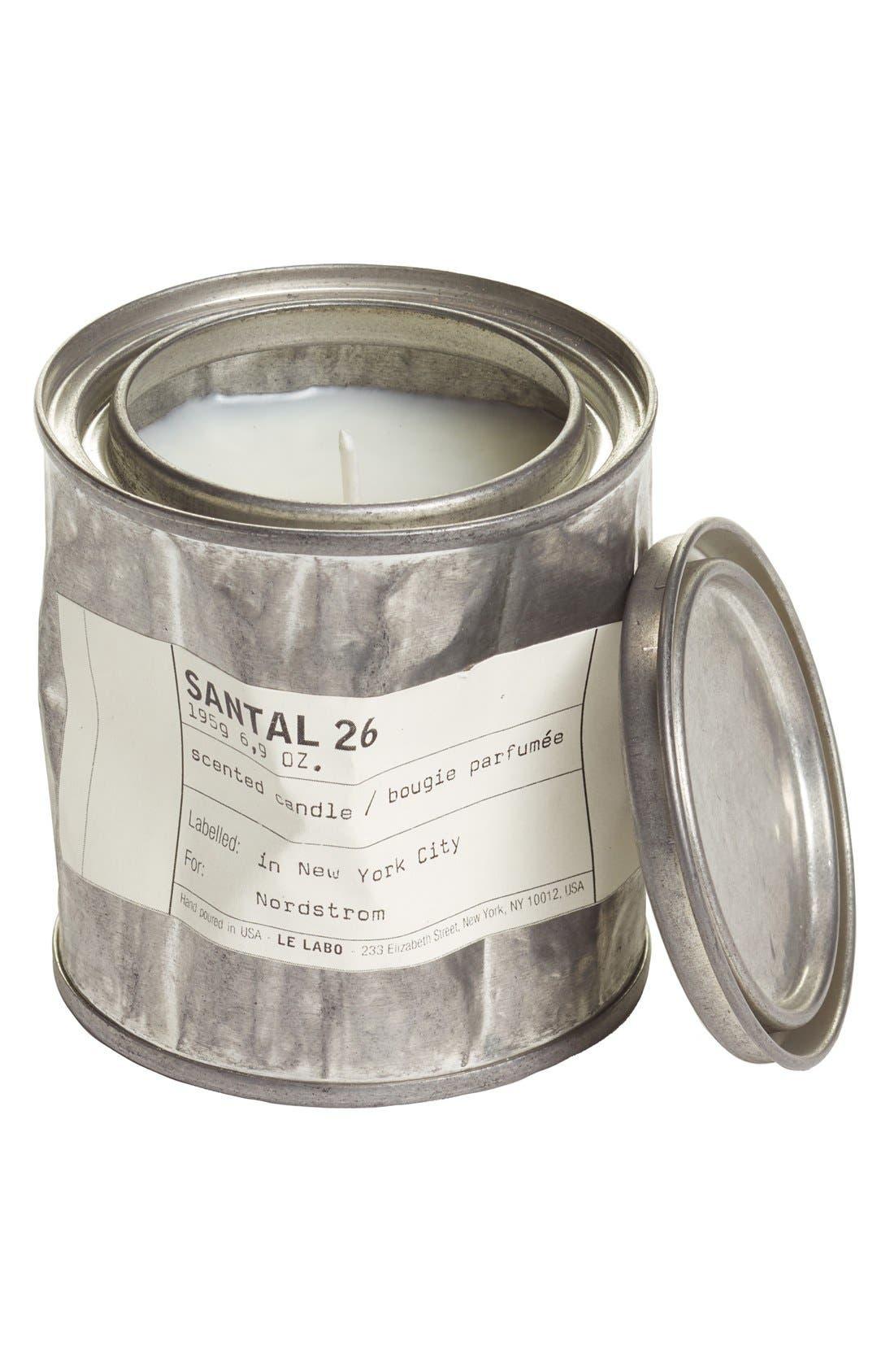 'Santal 26' Vintage Tin Candle,                         Main,                         color, NO COLOR