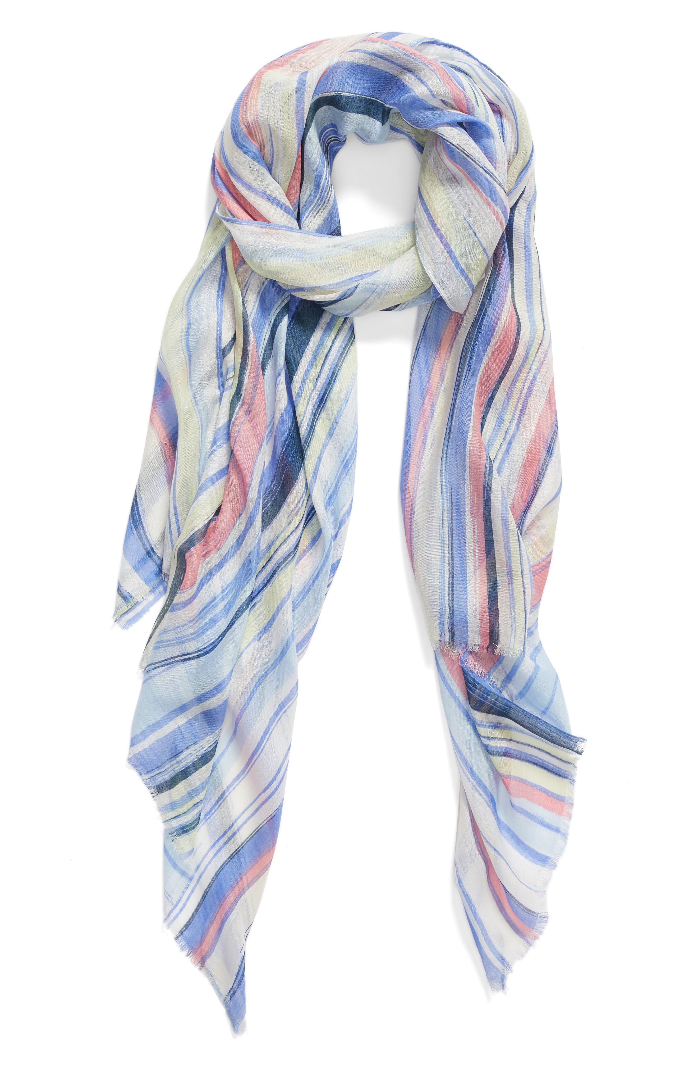Painterly Wave Wrap,                         Main,                         color, 420