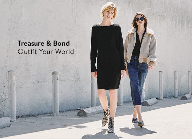 Treasure & Bond: outfit your world.