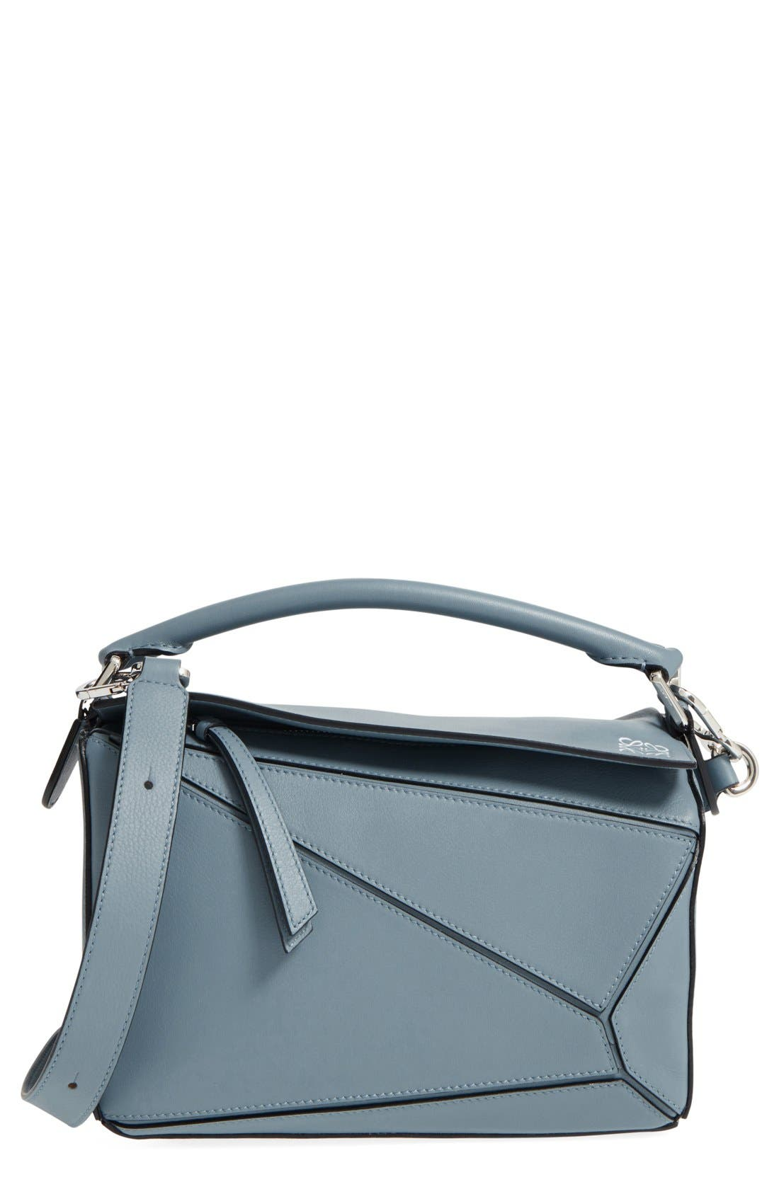 'Small Puzzle' Calfskin Leather Bag,                             Main thumbnail 3, color,