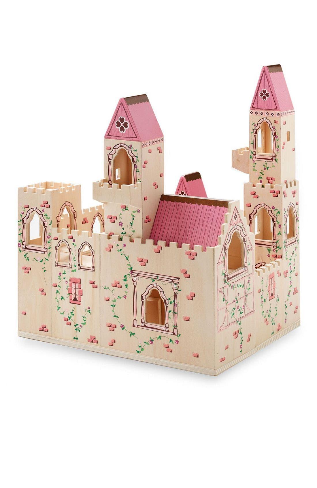 Wood Play Castle,                             Alternate thumbnail 9, color,
