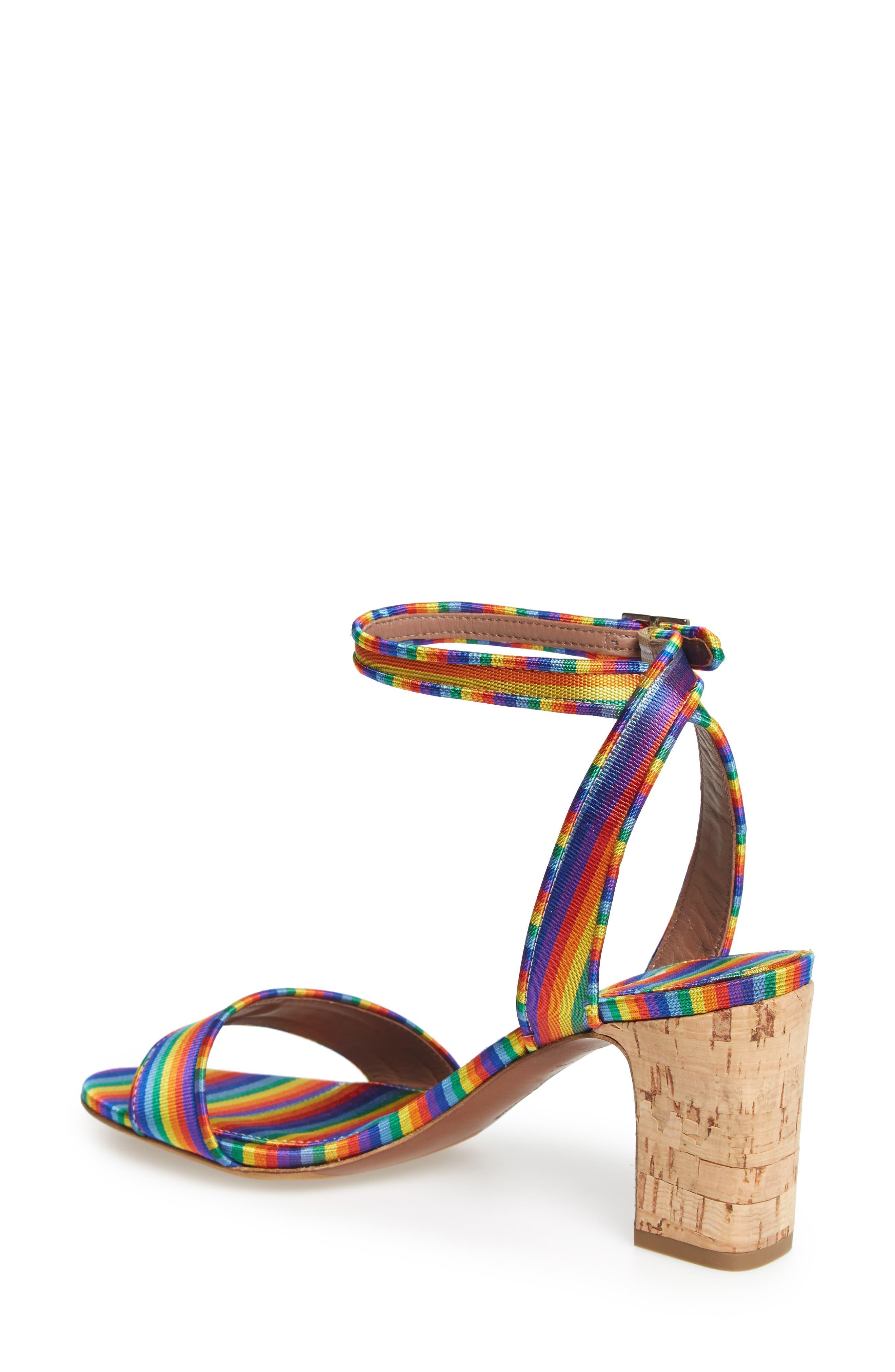 Leticia Cork Heel Sandal,                             Alternate thumbnail 2, color,                             600
