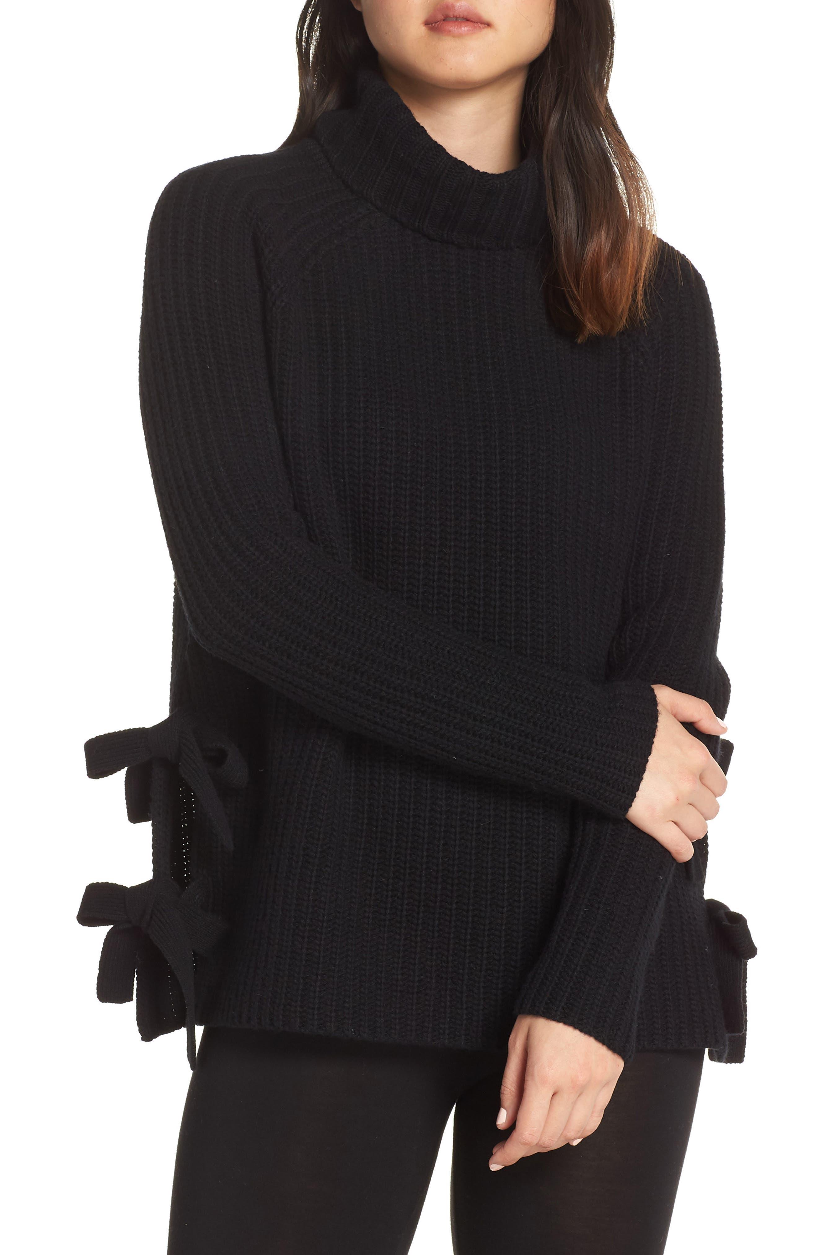 Ceanne Turtleneck Sweater,                             Main thumbnail 1, color,                             001