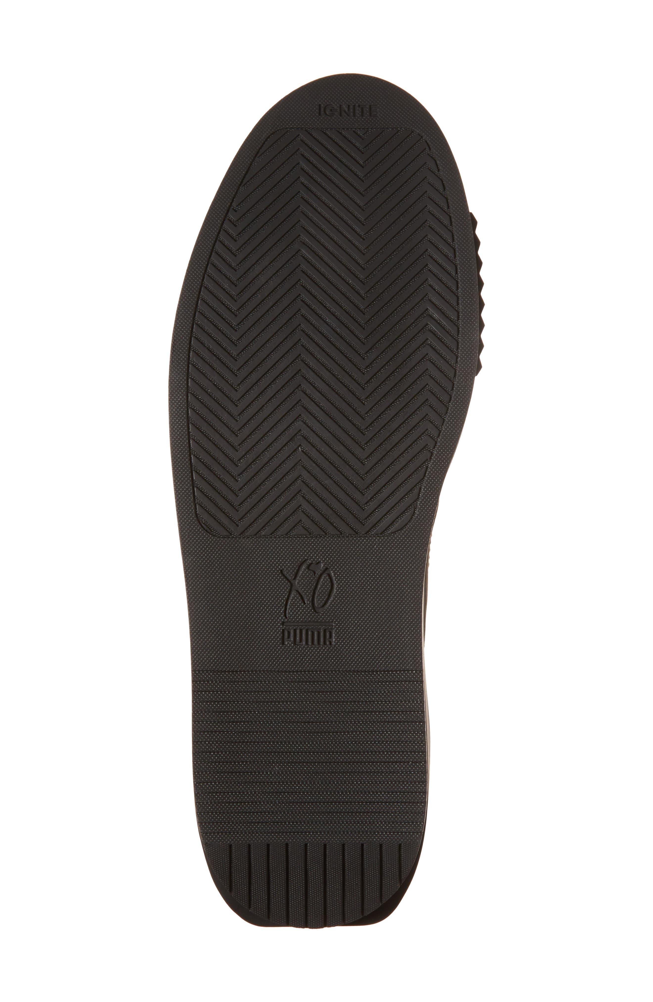 XO Parallel Weeknd Sneaker,                             Alternate thumbnail 6, color,                             001