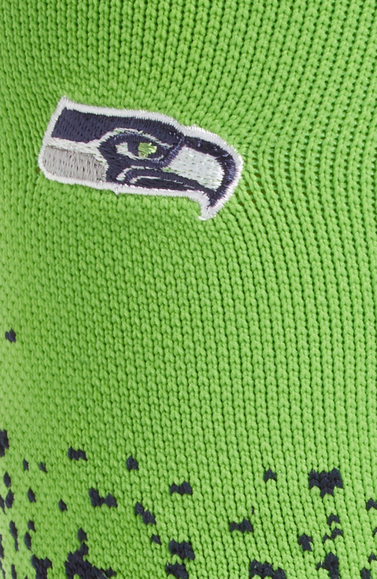 Seattle Seahawks - Fade Socks,                             Alternate thumbnail 3, color,                             300