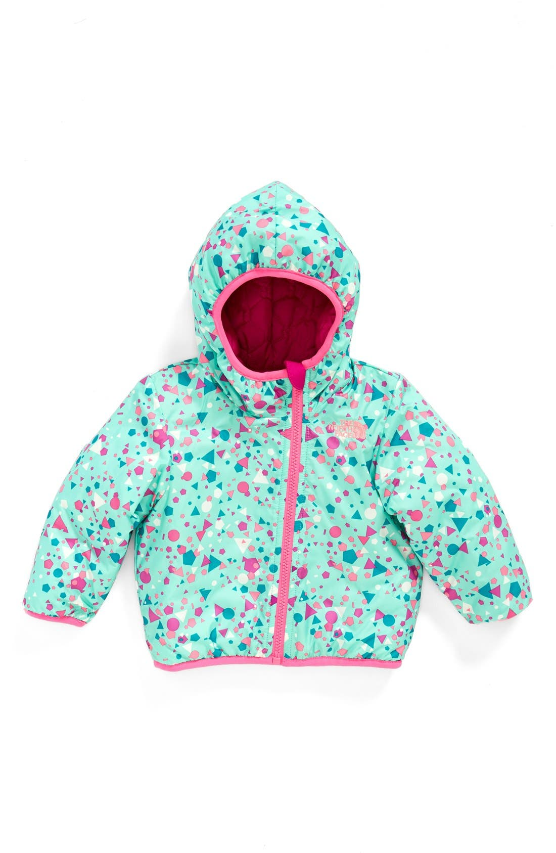 'Perrito' Reversible Water Repellent Hooded Jacket,                             Alternate thumbnail 10, color,