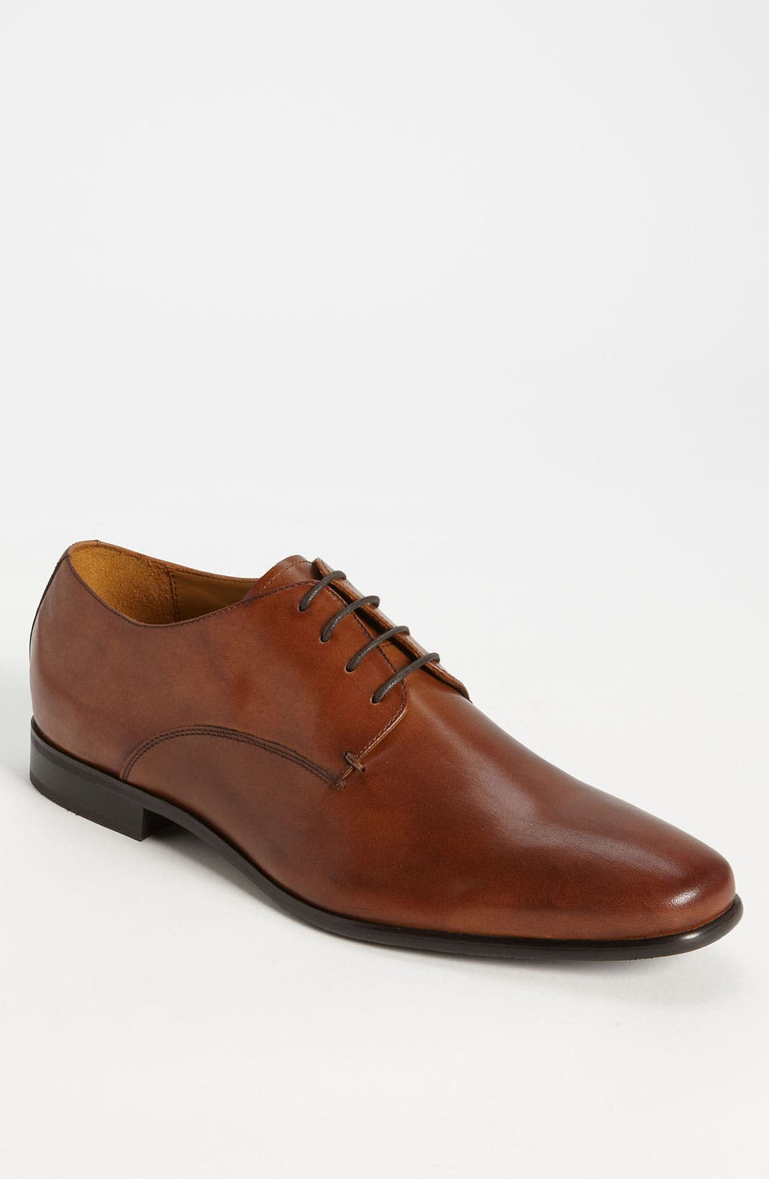 GORDON RUSH 'Manning' Derby, Main, color, COGNAC LEATHER