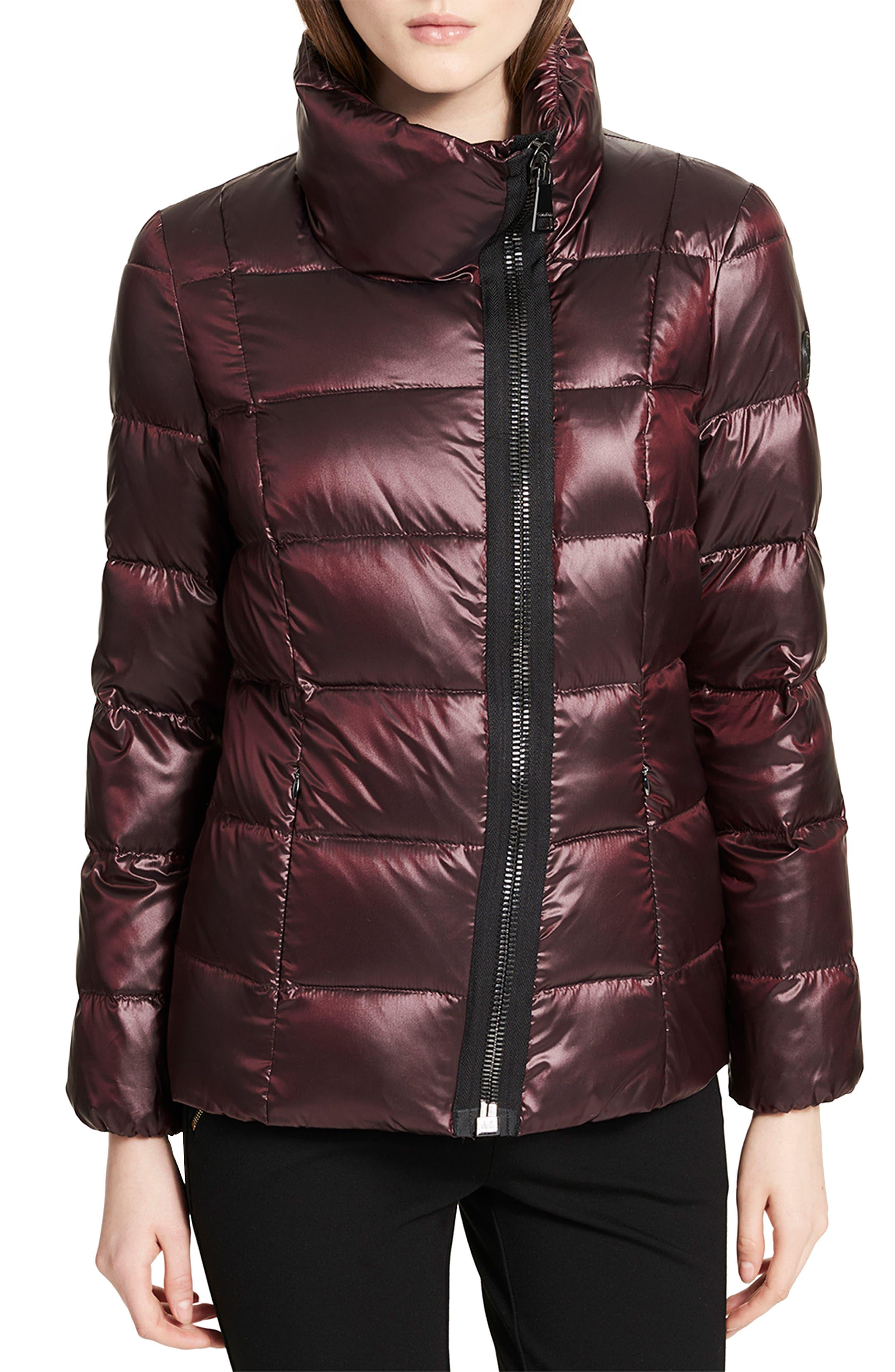 Asymmetrical Zip Down Jacket,                             Main thumbnail 2, color,