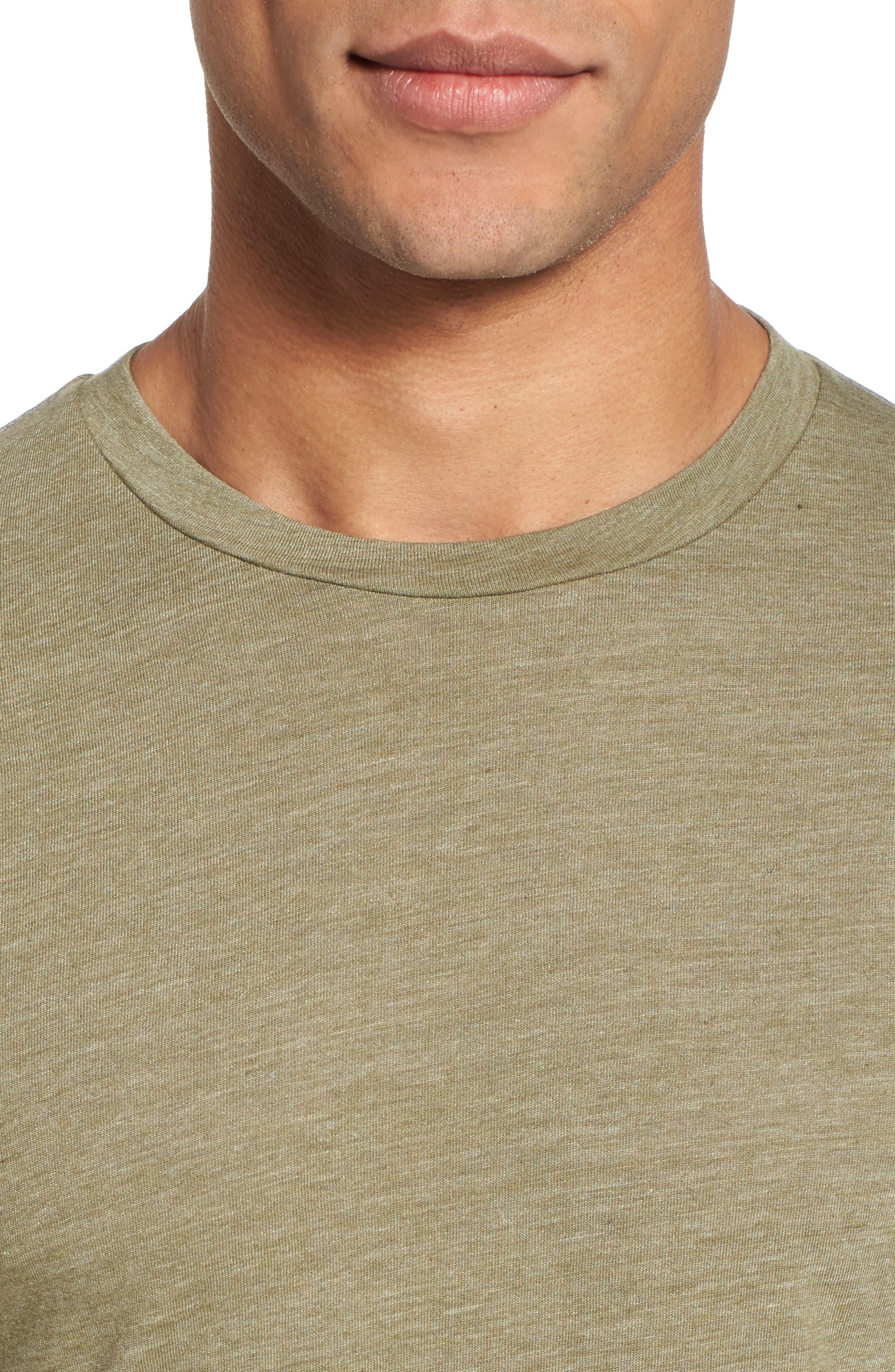 Scallop Triblend Crewneck T-Shirt,                             Alternate thumbnail 73, color,