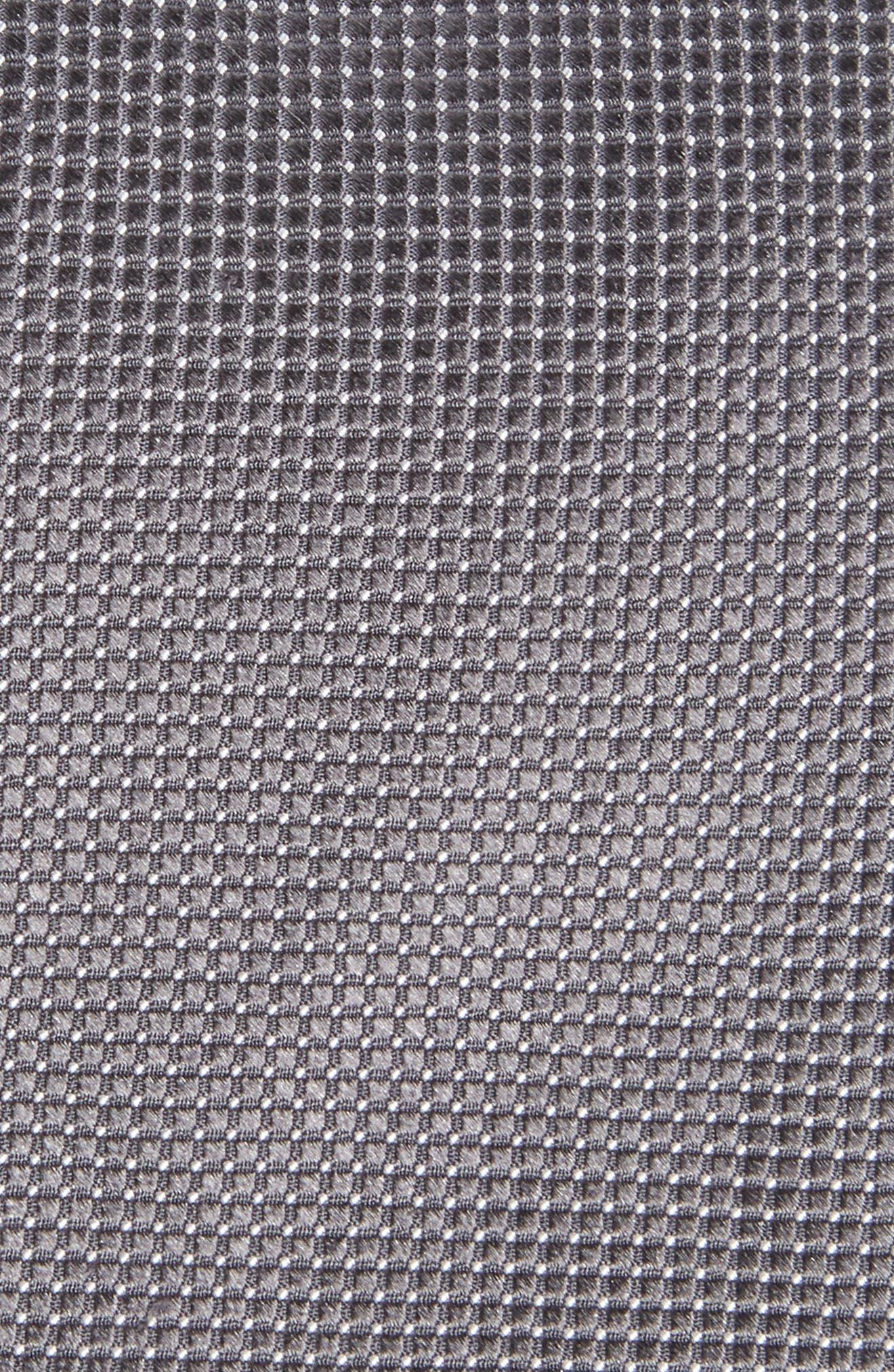 Micro Pin Dot Silk Tie,                             Alternate thumbnail 2, color,                             020