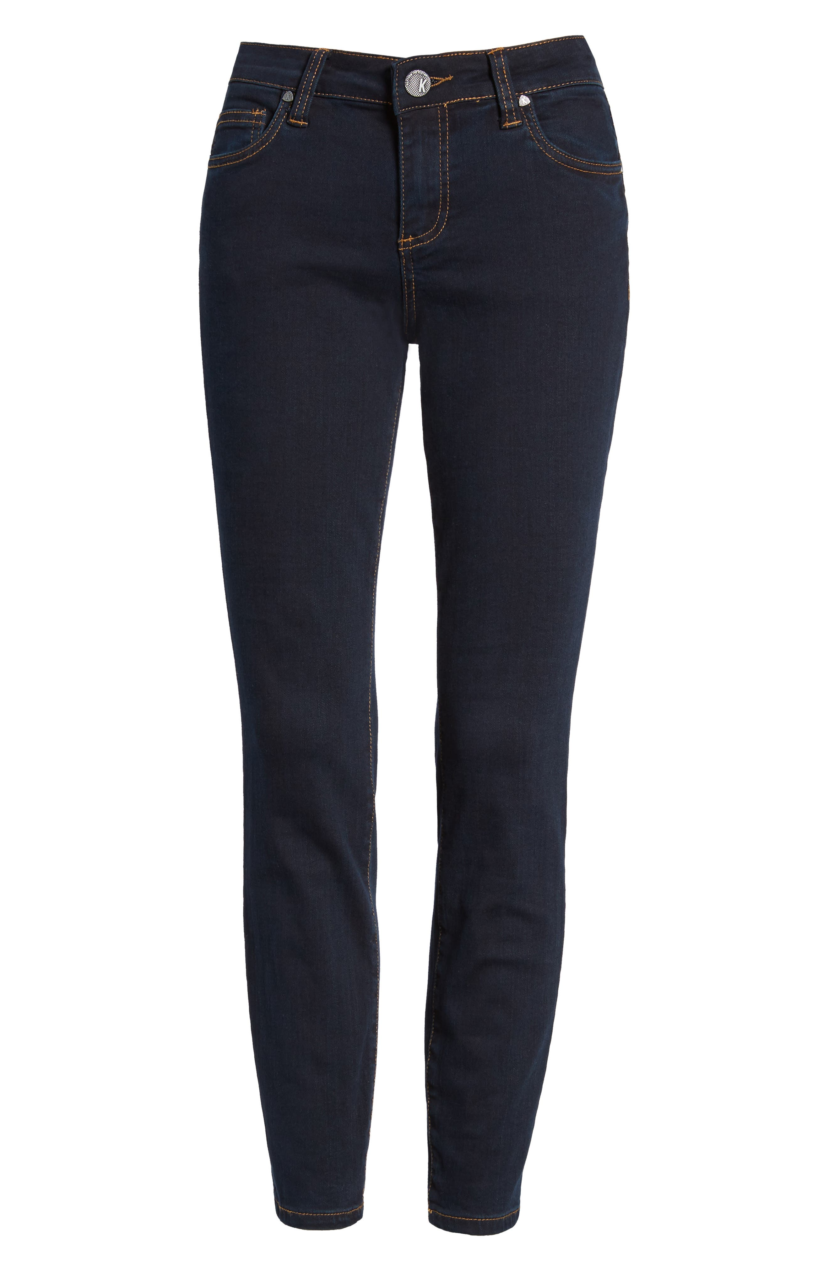 Connie Ankle Skinny Jeans,                             Alternate thumbnail 6, color,                             437
