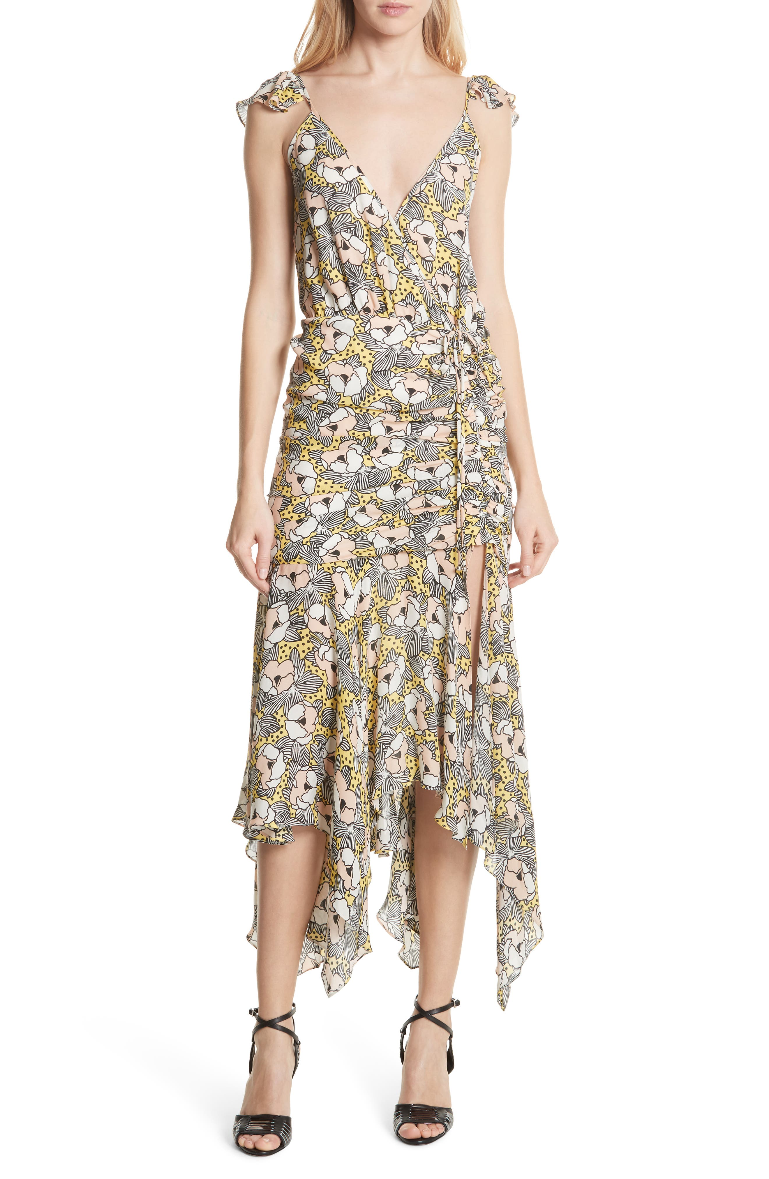 Martine Floral Print Dress,                             Main thumbnail 2, color,