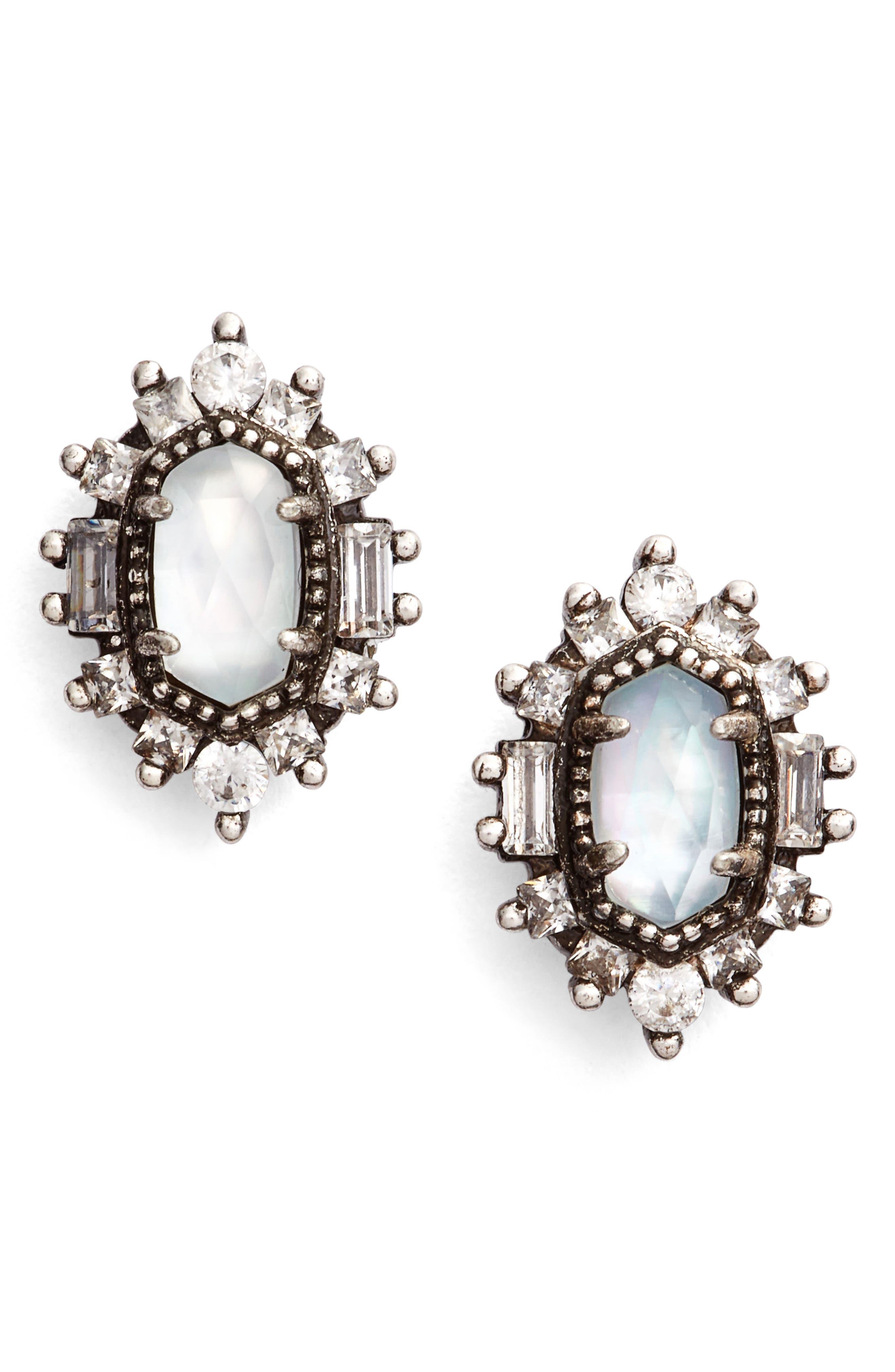 Kaia Stud Earrings,                         Main,                         color, 020