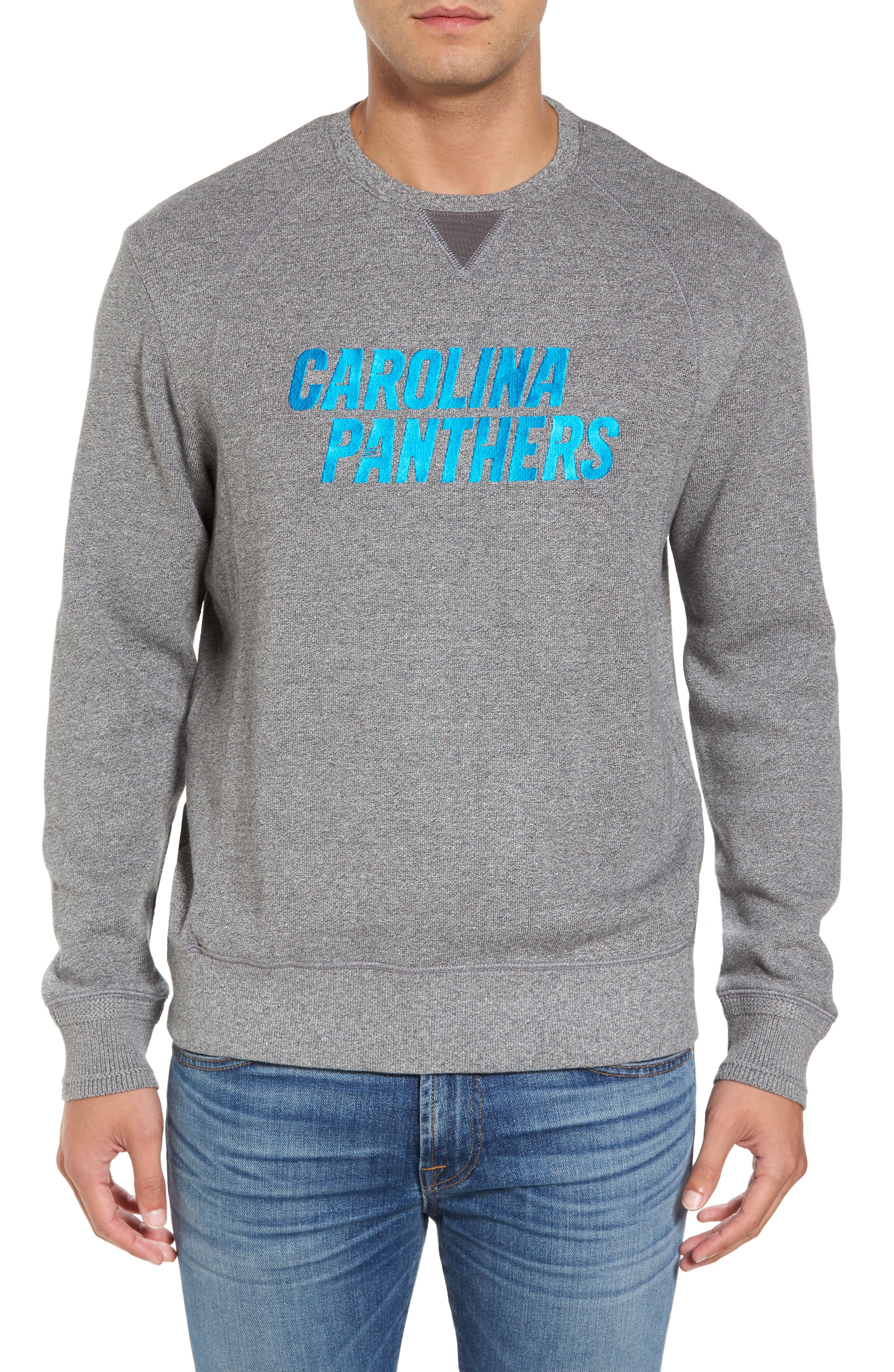 NFL Stitch of Liberty Embroidered Crewneck Sweatshirt,                             Main thumbnail 21, color,
