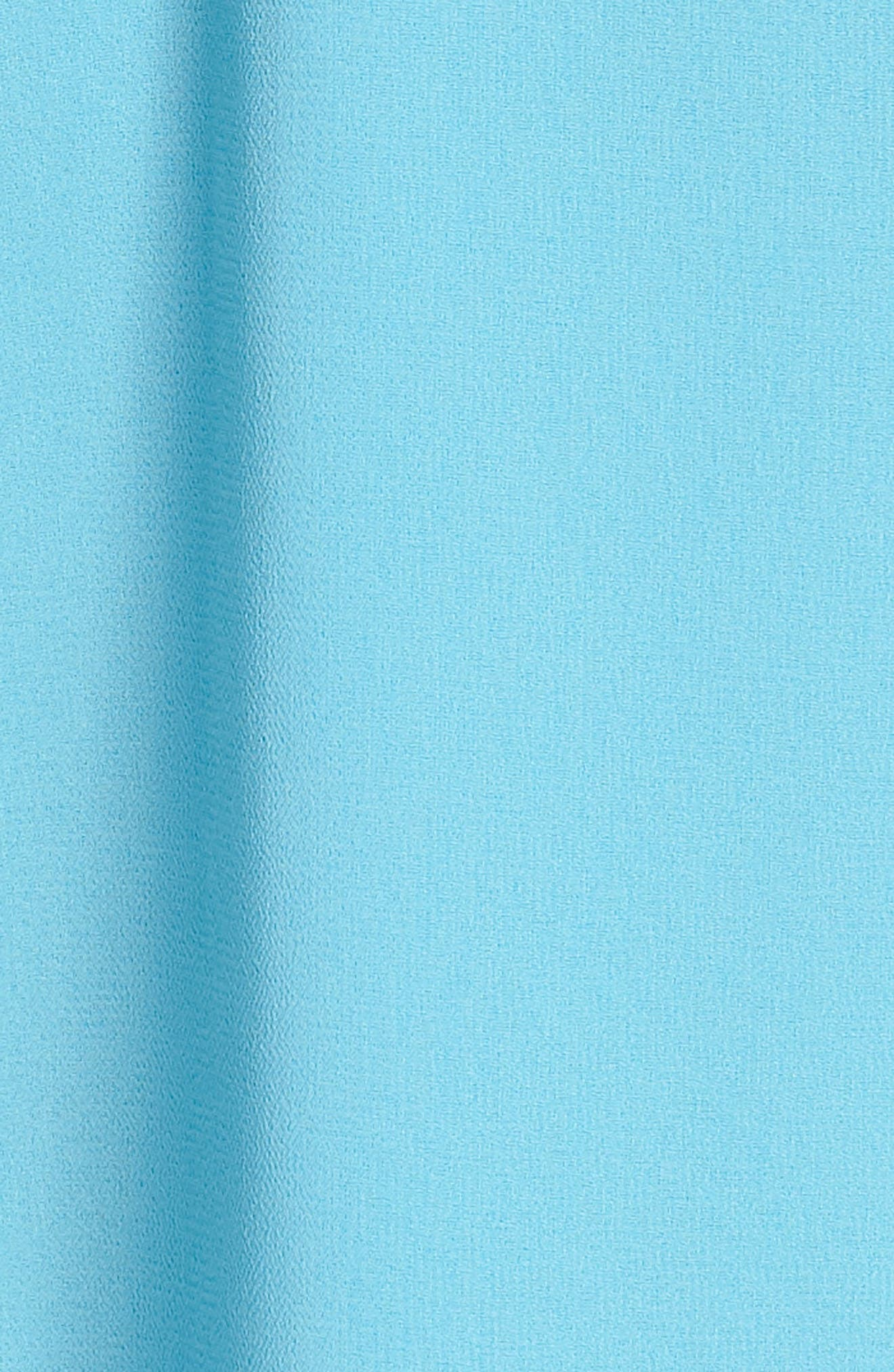 Off the Shoulder Ruffle & Tie Dress,                             Alternate thumbnail 6, color,                             414