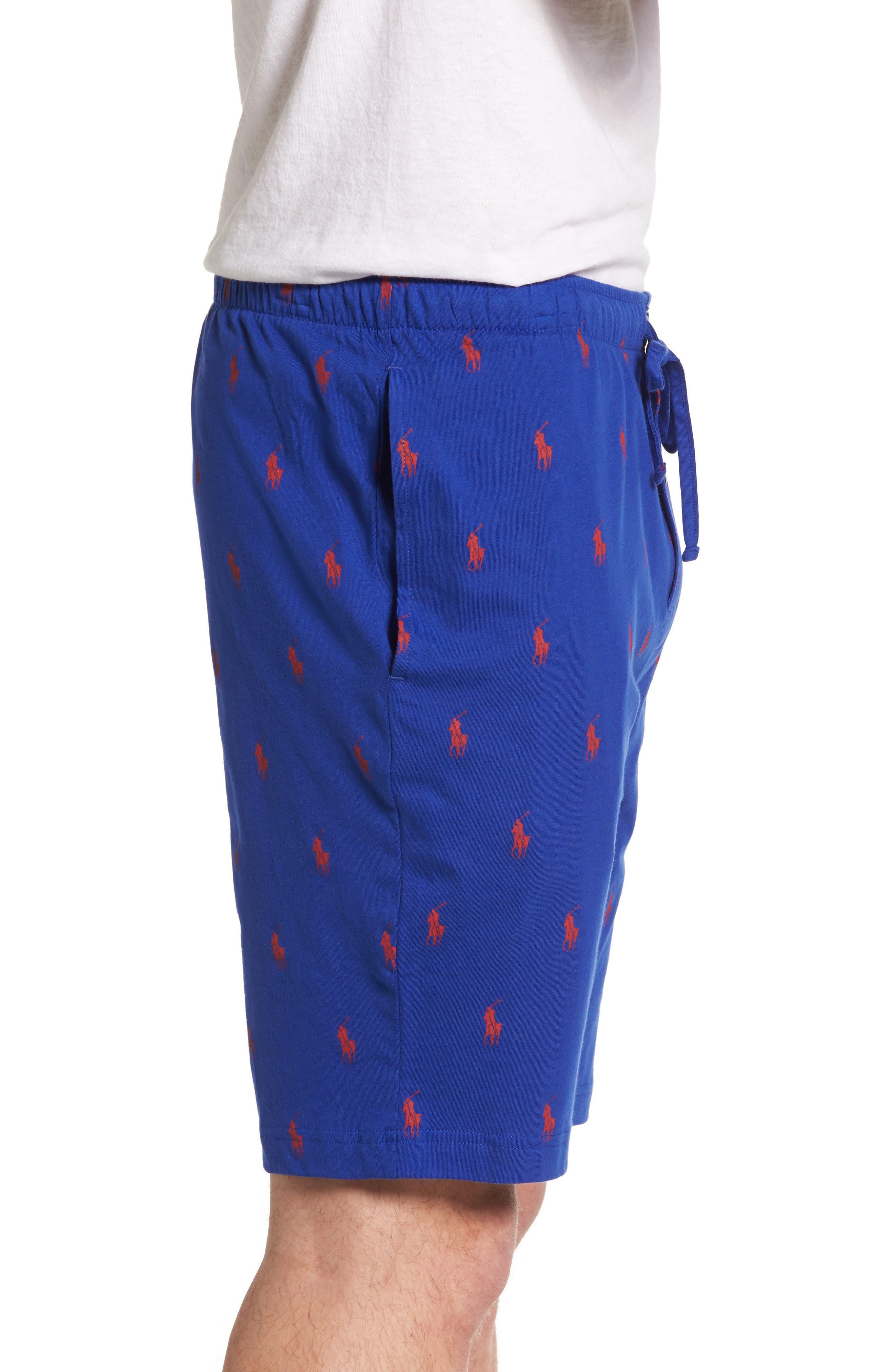 Cotton Sleep Shorts,                             Alternate thumbnail 8, color,