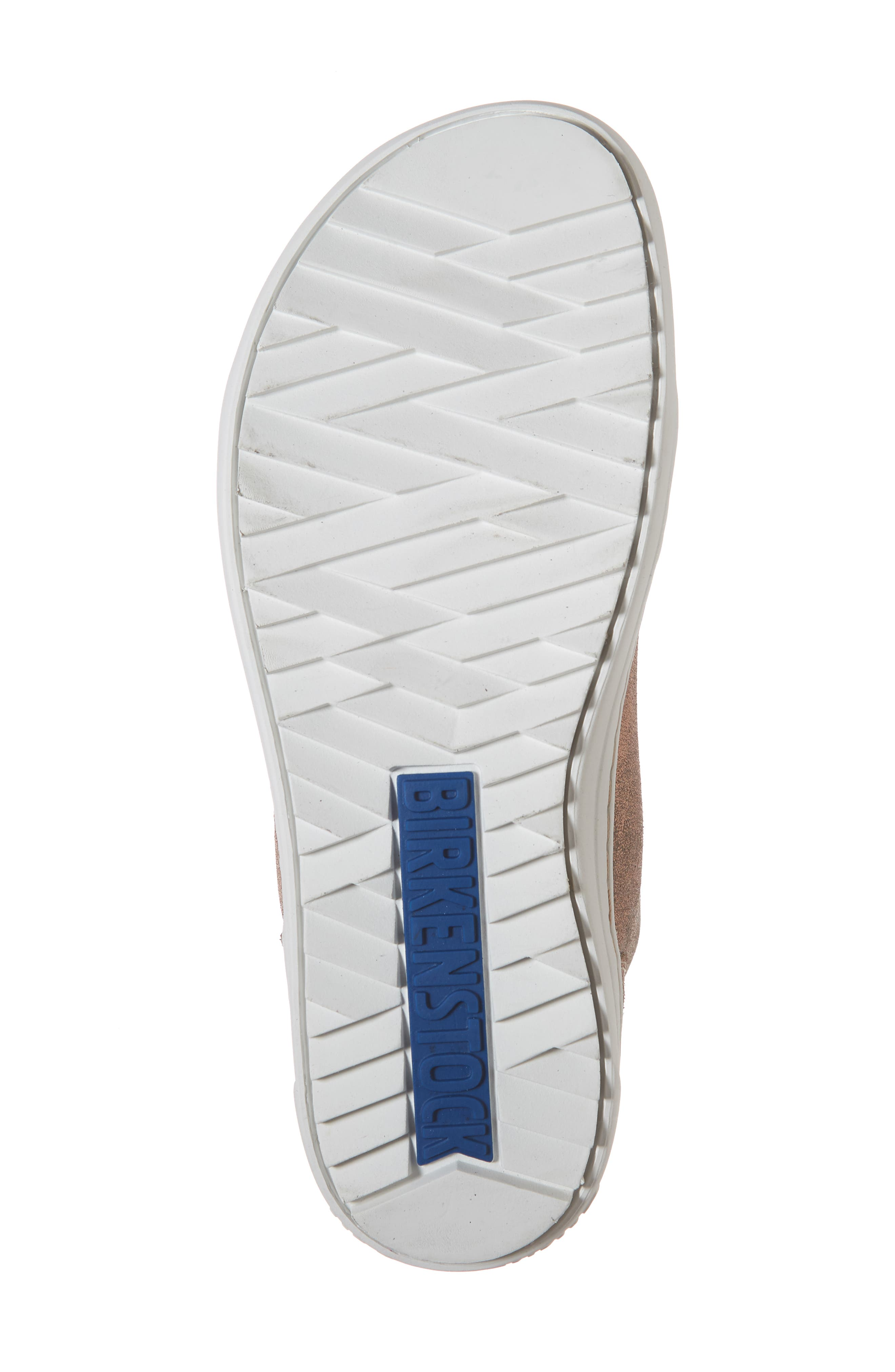 Bartlett High Top Sneaker,                             Alternate thumbnail 6, color,                             METALLIC ROSE LEATHER