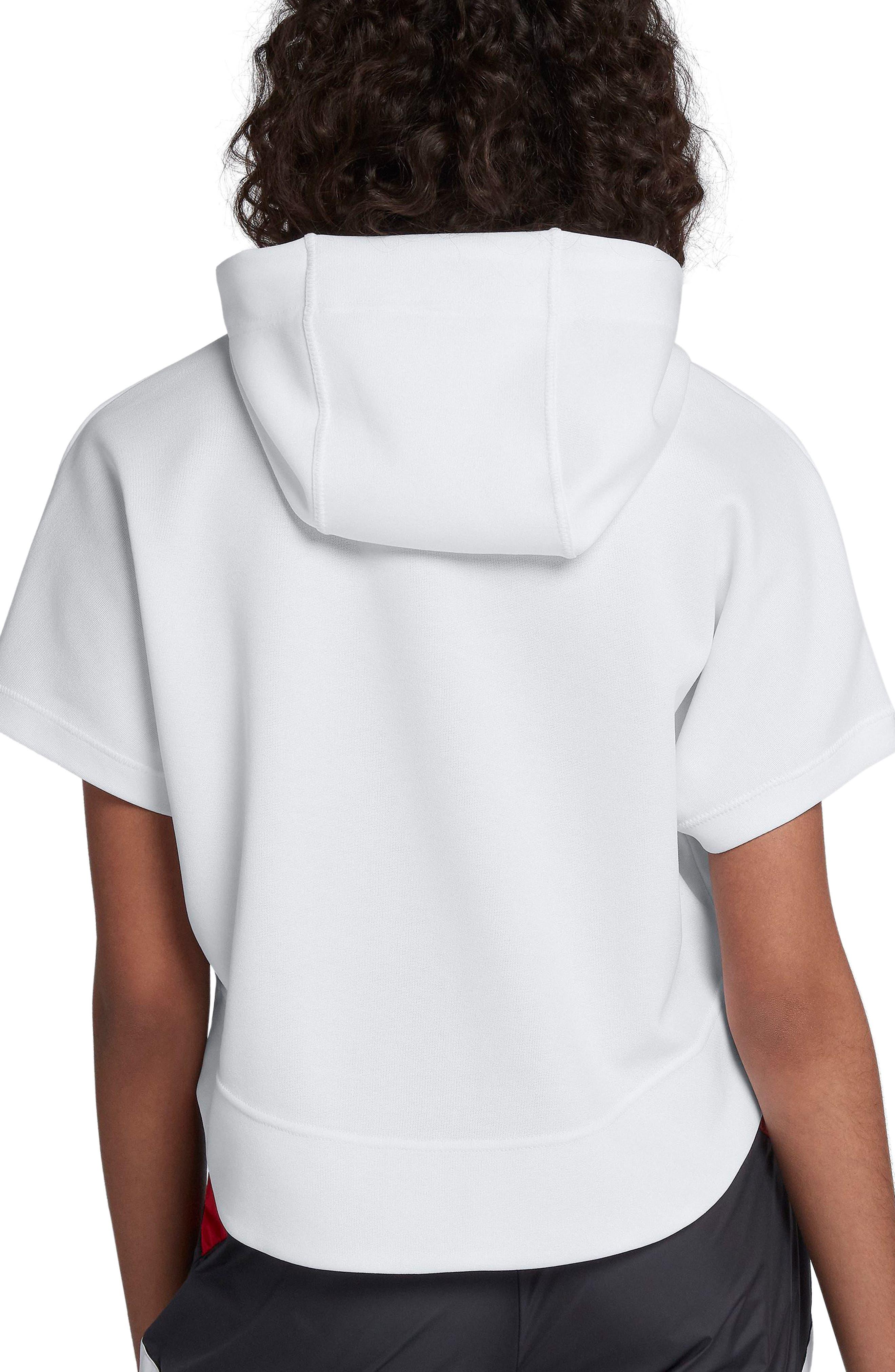 NIKE,                             Sportswear Beautiful x Powerful Crop Hoodie,                             Alternate thumbnail 2, color,                             100