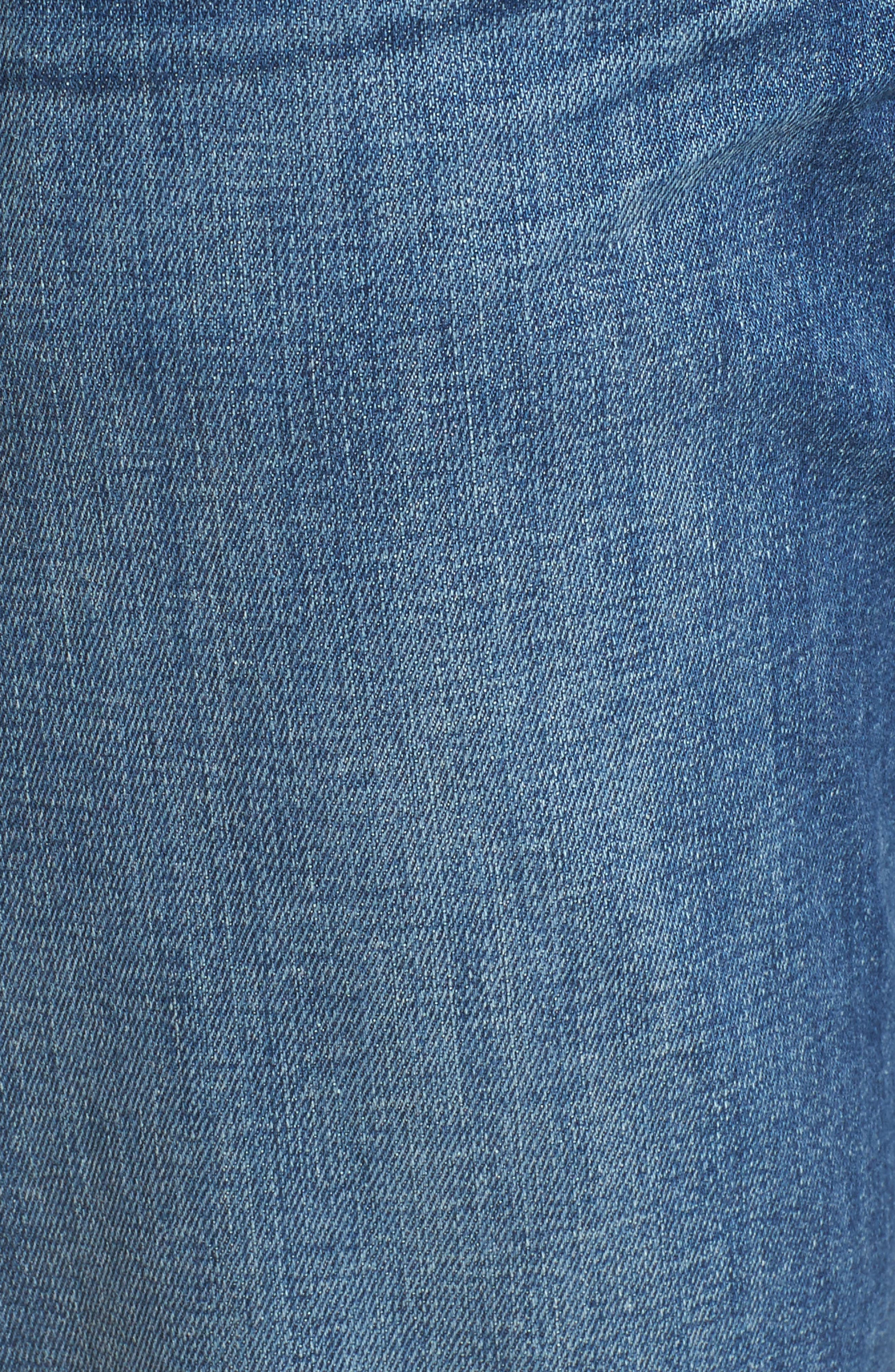 The Standard Straight Fit Jeans,                             Alternate thumbnail 5, color,                             401