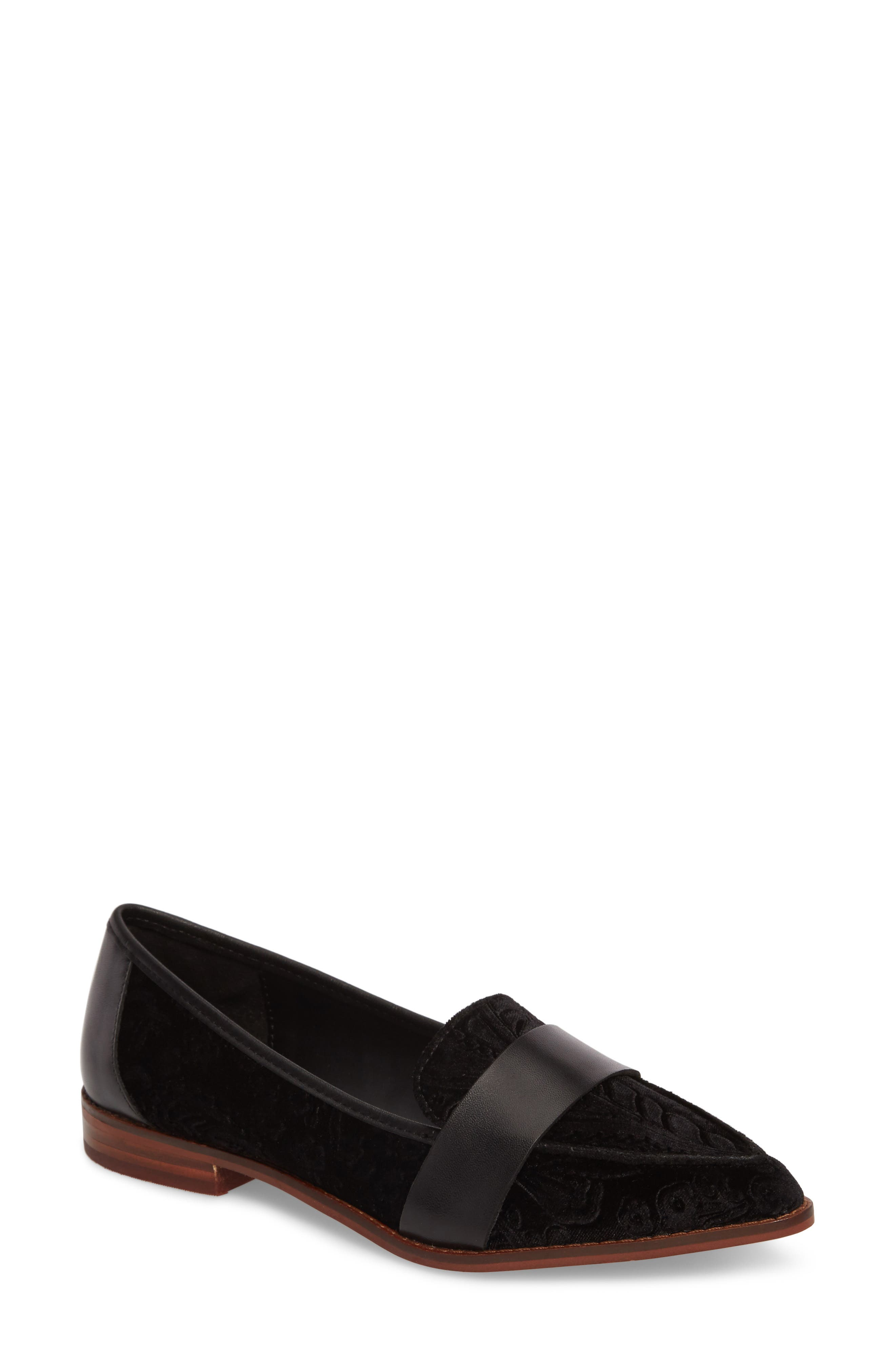Edie Pointy Toe Loafer,                             Main thumbnail 2, color,