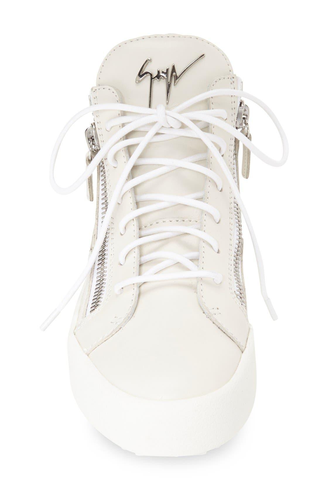 High Top Sneaker,                             Alternate thumbnail 3, color,                             020