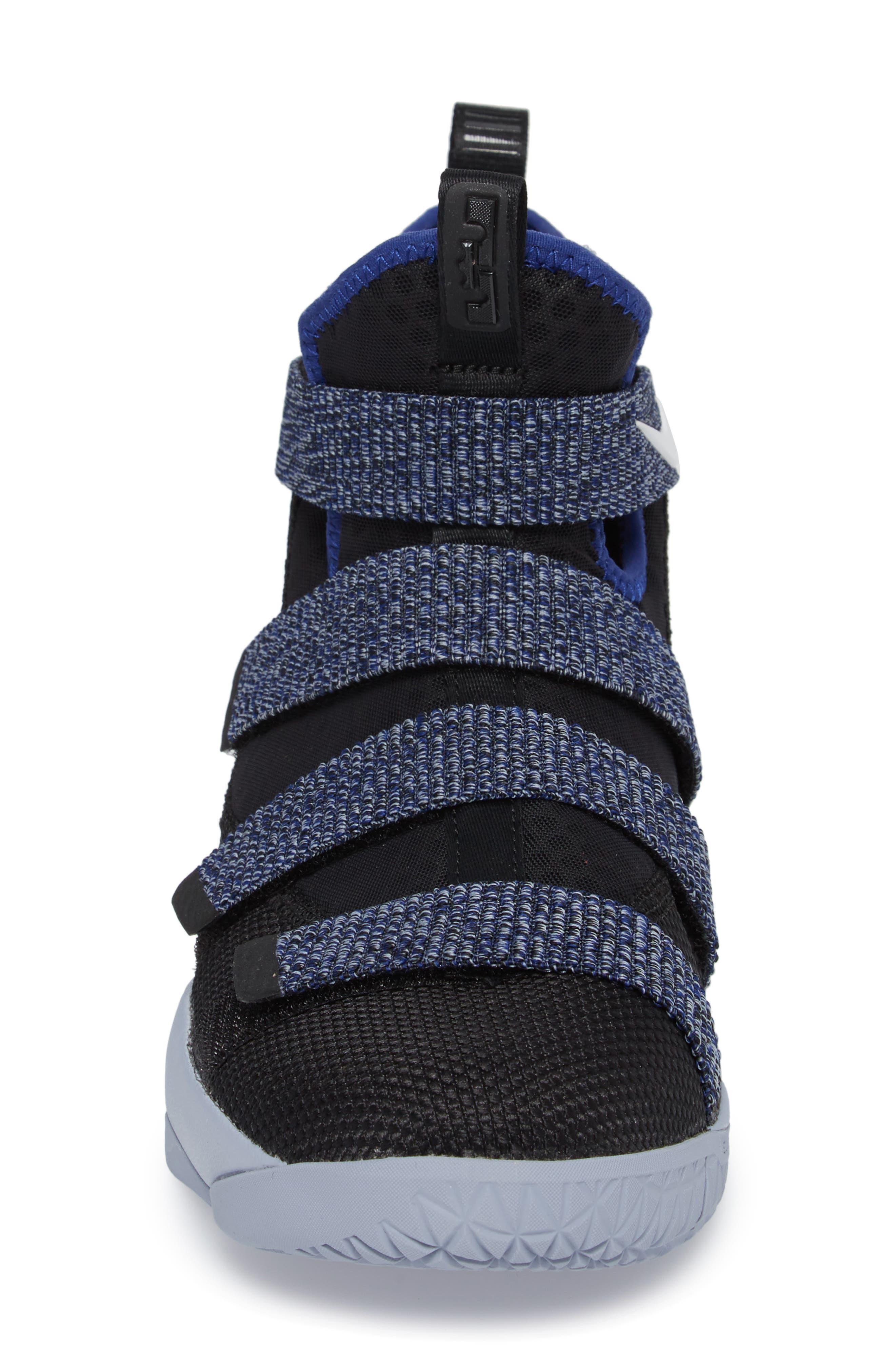 NIKE,                             LeBron Soldier XI Basketball Shoe,                             Alternate thumbnail 4, color,                             005