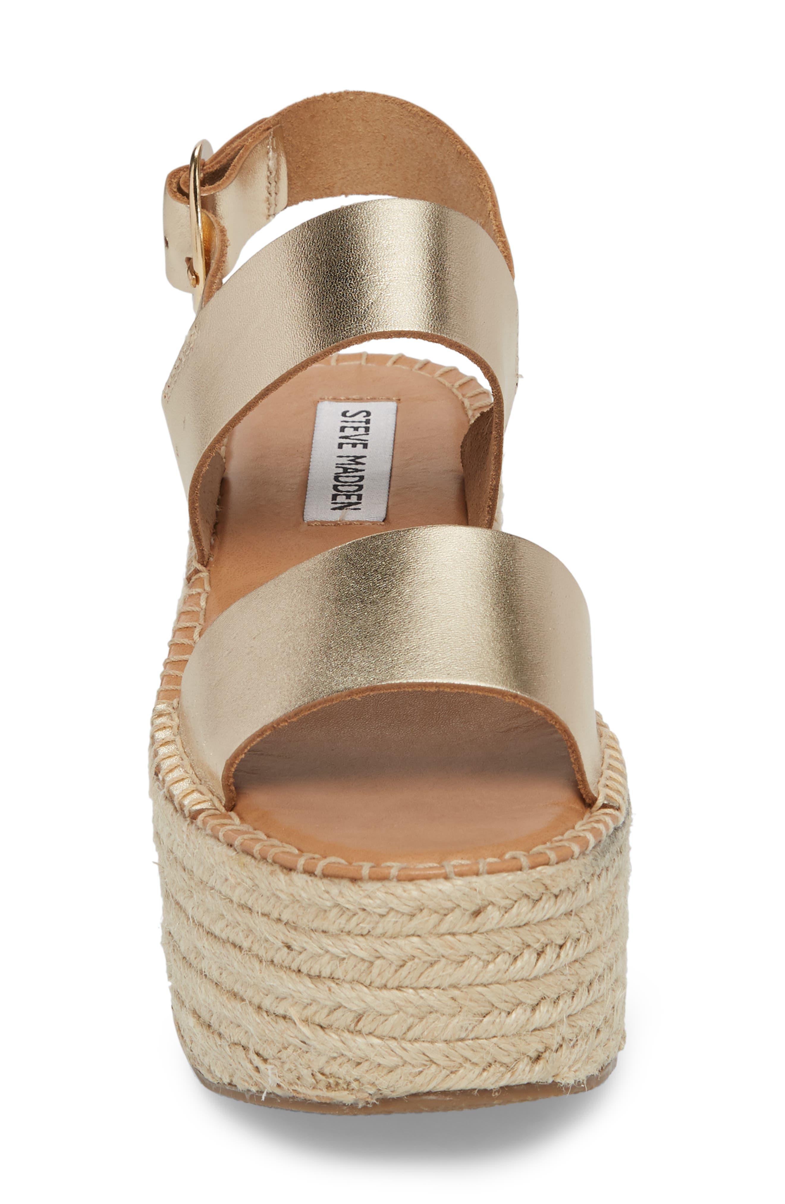 Cali Espadrille Platform Sandal,                             Alternate thumbnail 12, color,