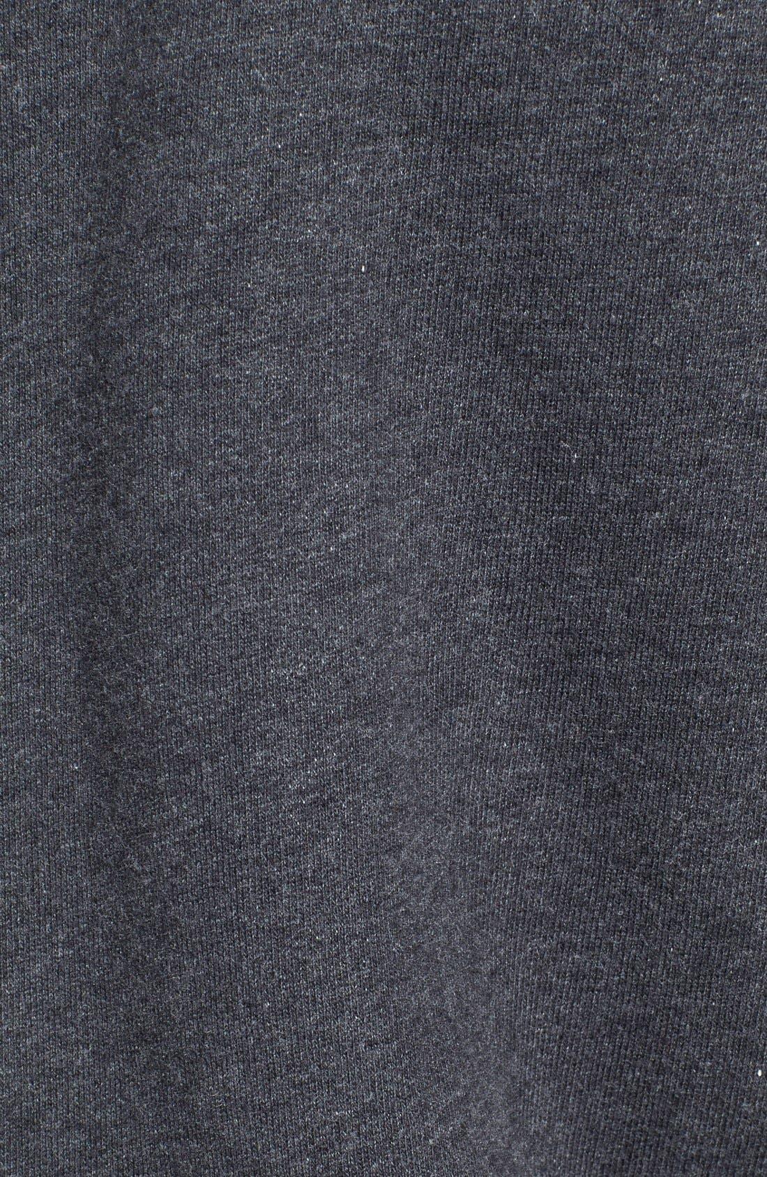 VINCE,                             Faux Fur Lined Zip Hoodie,                             Alternate thumbnail 3, color,                             008