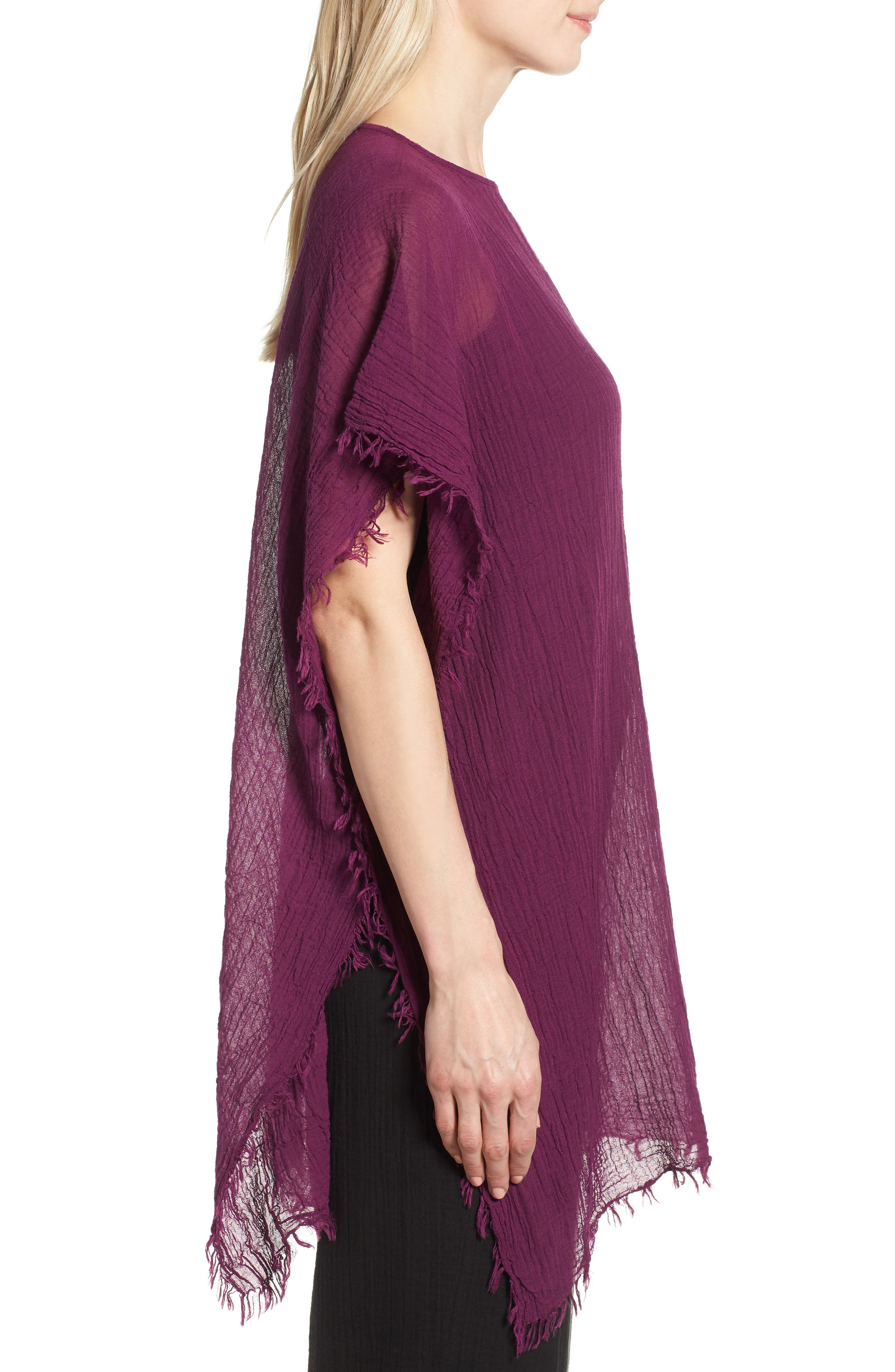 Organic Cotton Poncho,                             Alternate thumbnail 14, color,