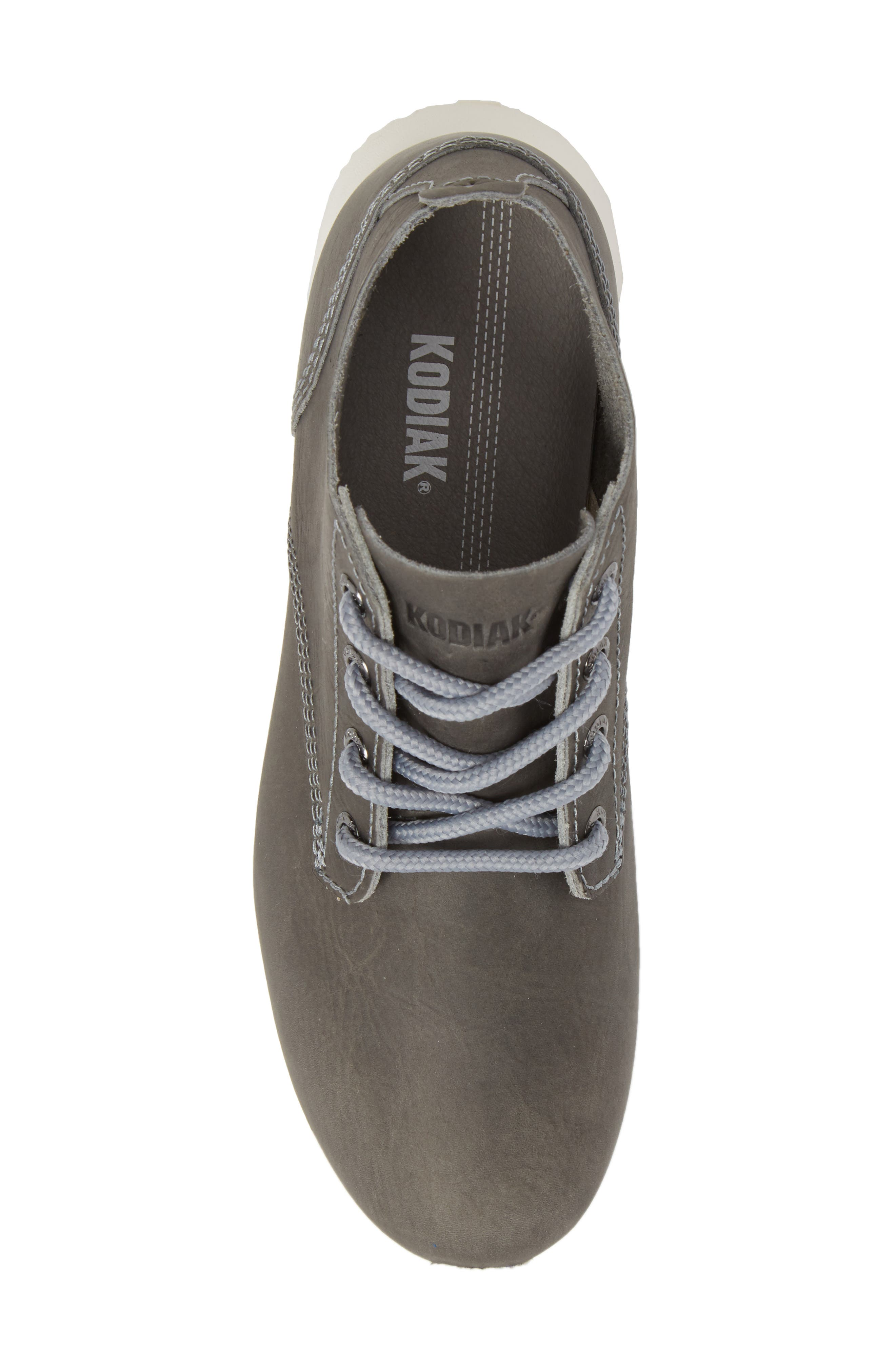 Chukka Boot,                             Alternate thumbnail 5, color,                             GREY LEATHER