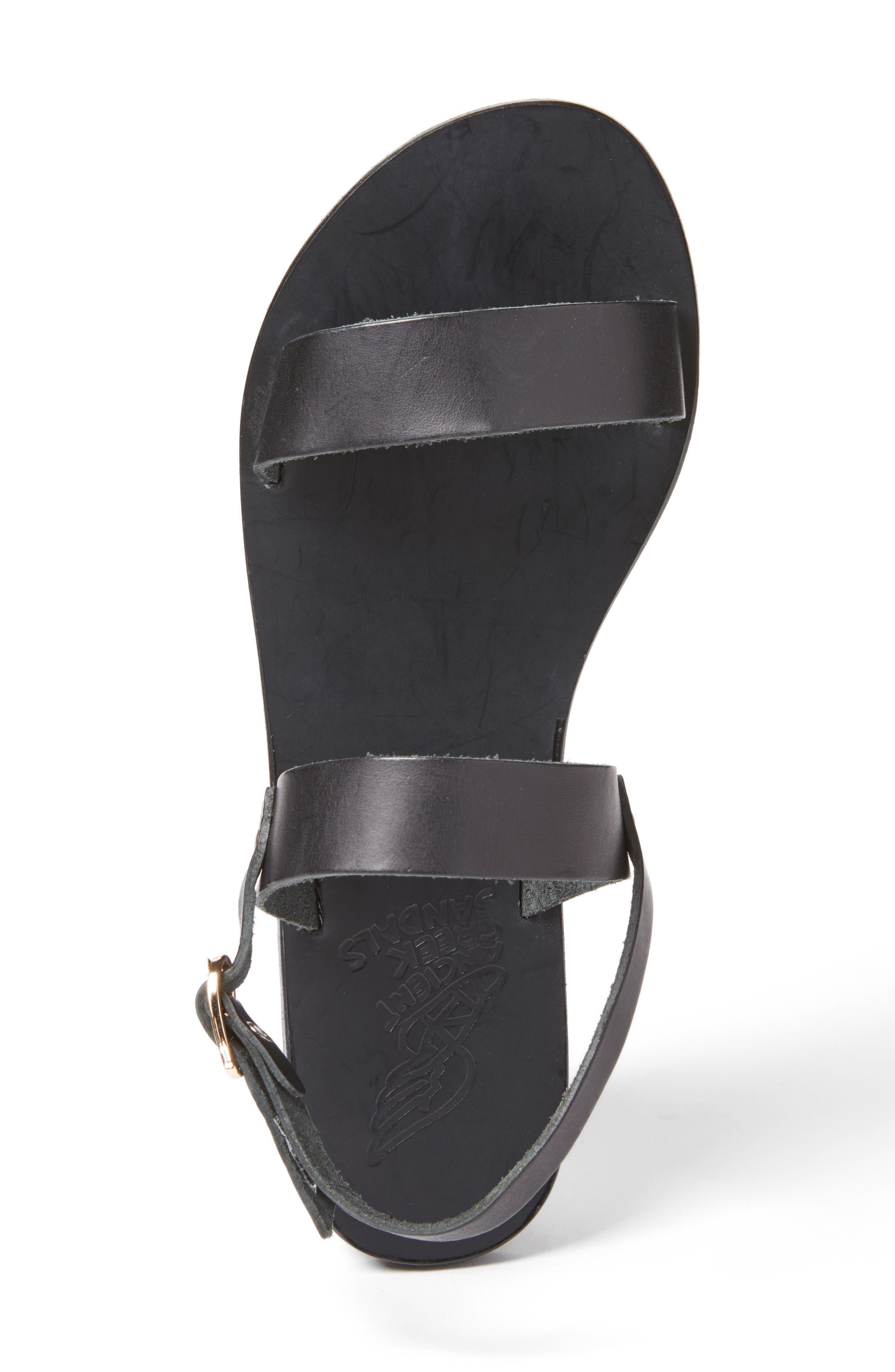 Clio Slingback Sandal,                             Alternate thumbnail 3, color,                             BLACK