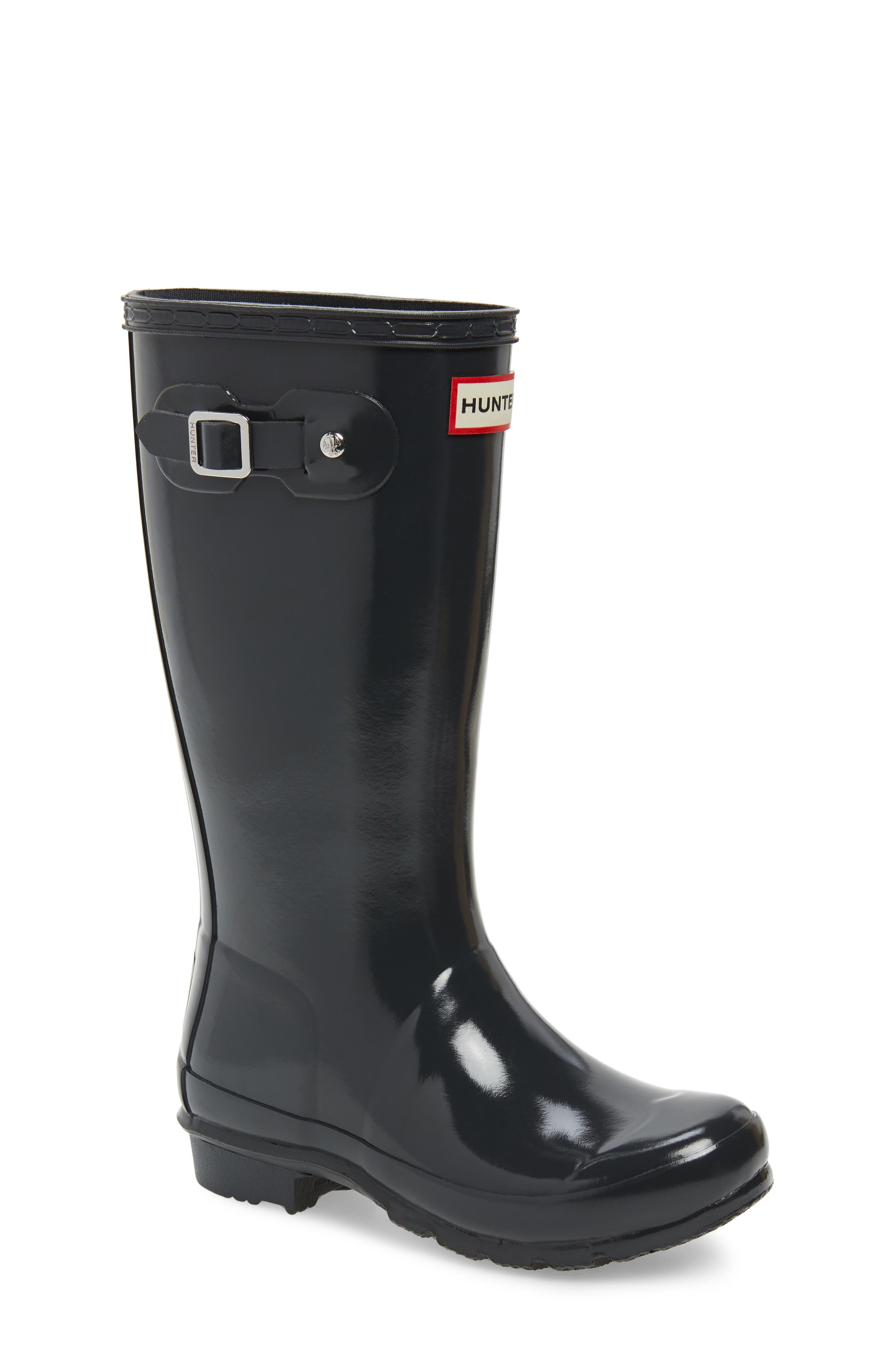 'Original Gloss' Rain Boot,                         Main,                         color, DARK SLATE