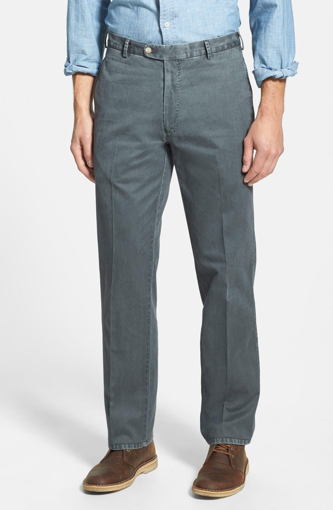 Garment Washed Twill Pants,                             Main thumbnail 2, color,