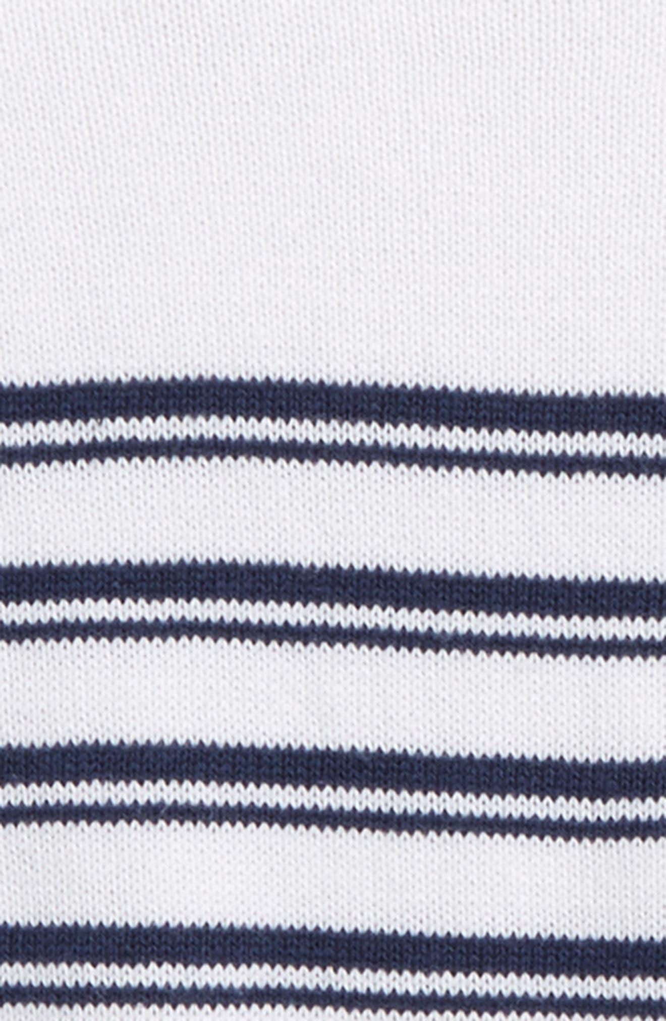 Stripe Cotton Sweater,                             Alternate thumbnail 2, color,                             400