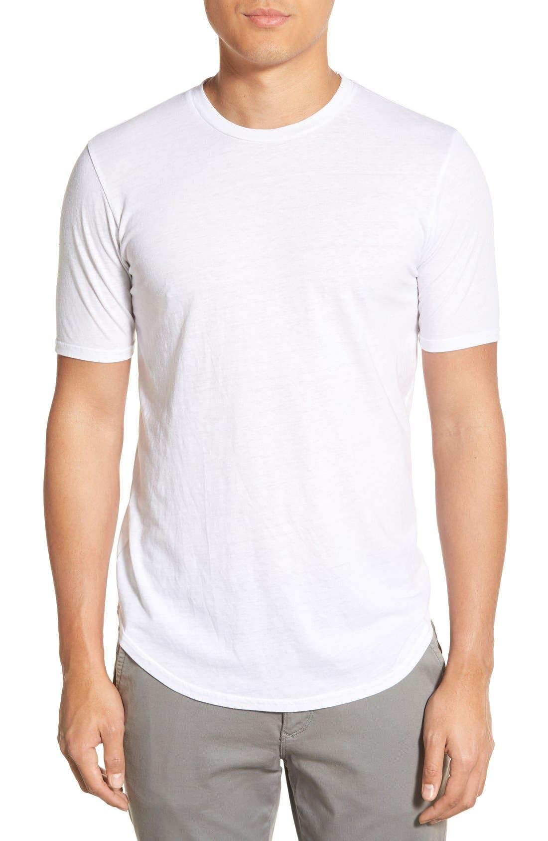 Scallop Triblend Crewneck T-Shirt,                             Main thumbnail 17, color,