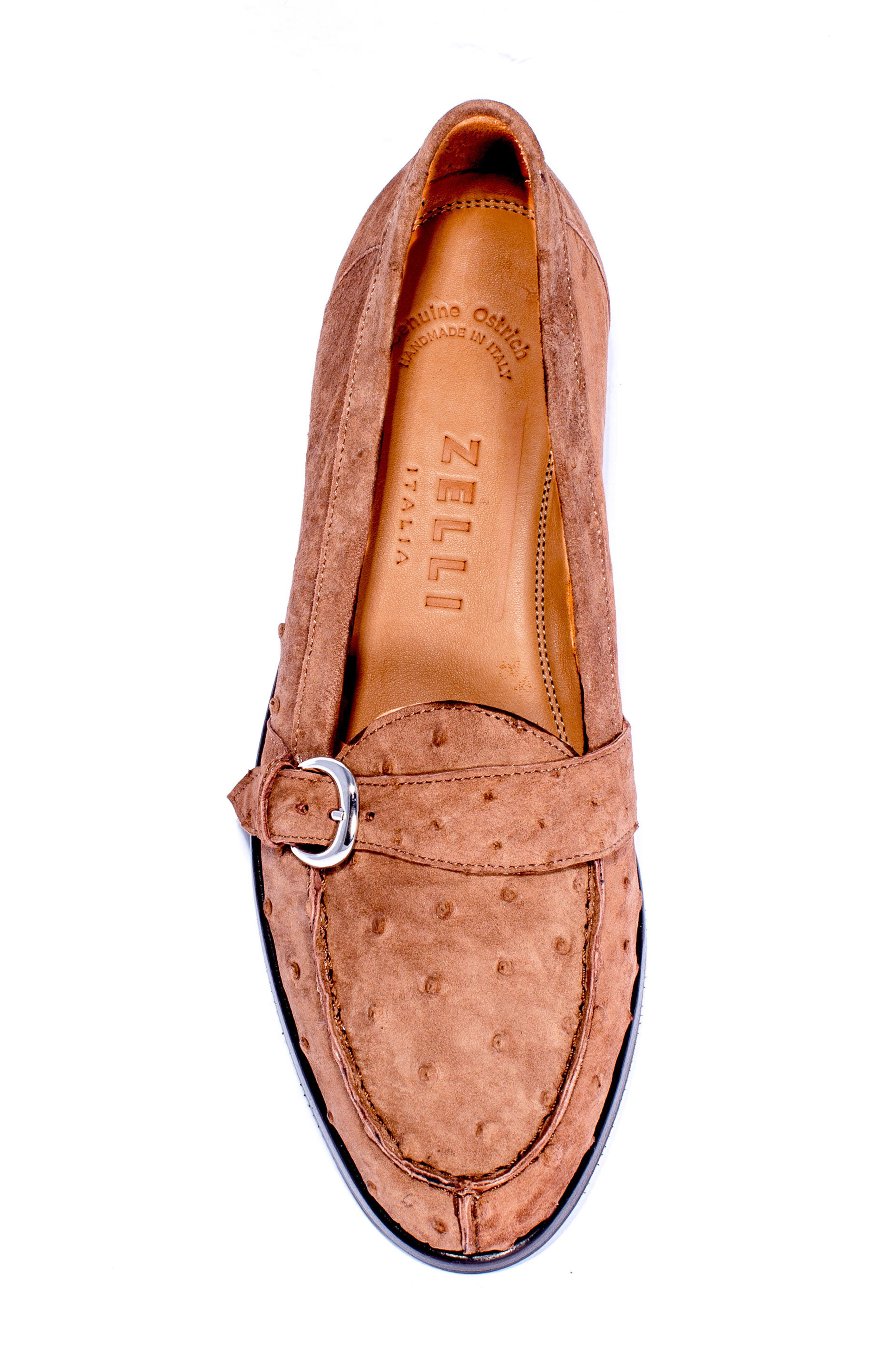 Orlando Teju Ostrich Loafer,                             Alternate thumbnail 5, color,                             200
