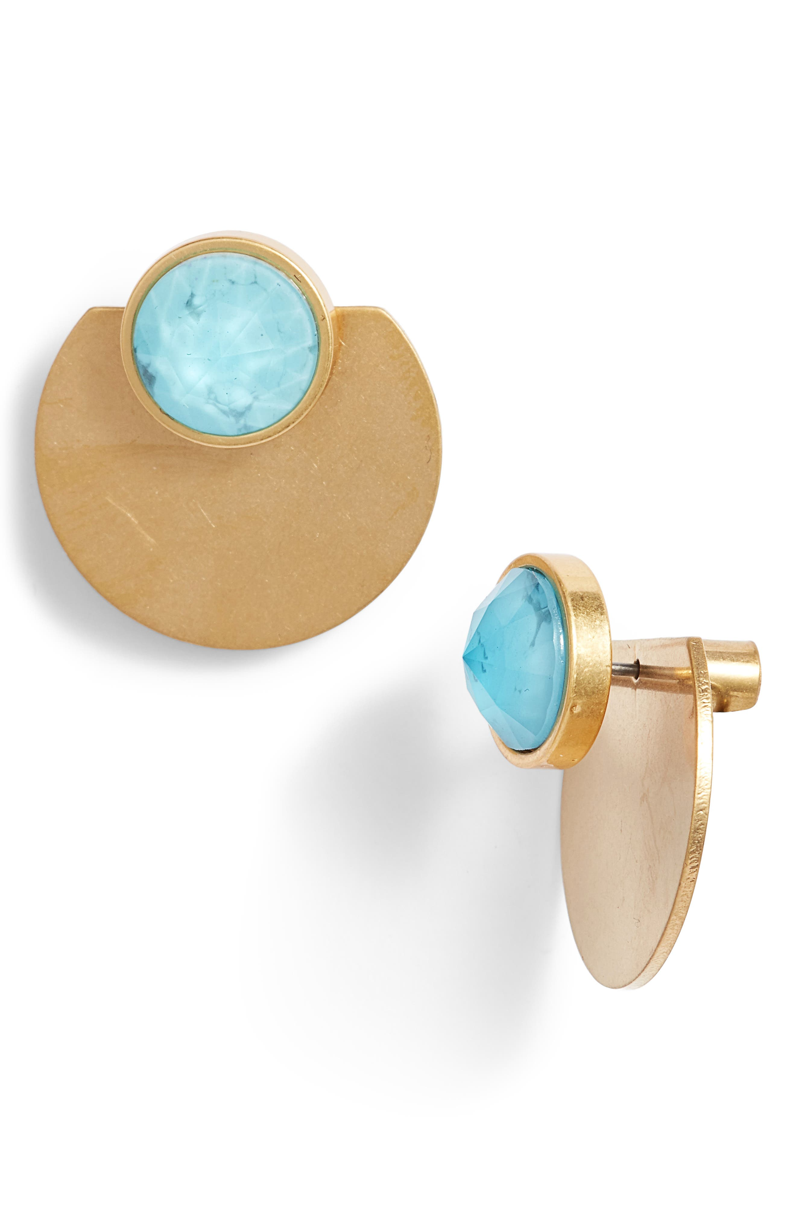 sunshine stones ear jackets,                             Main thumbnail 4, color,