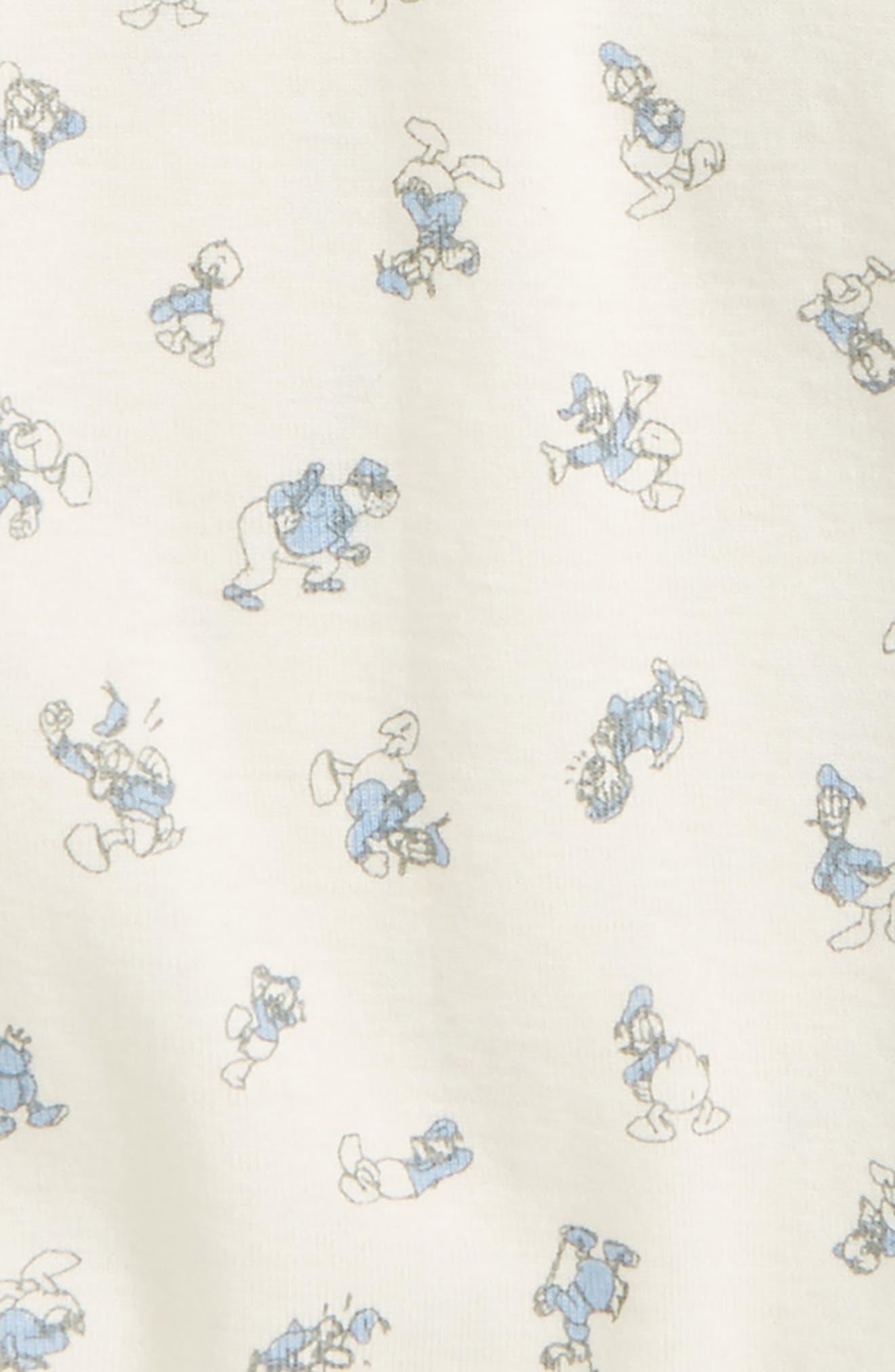 x Disney<sup>®</sup> Duckerberg Organic Cotton Bodysuit,                             Alternate thumbnail 2, color,                             902