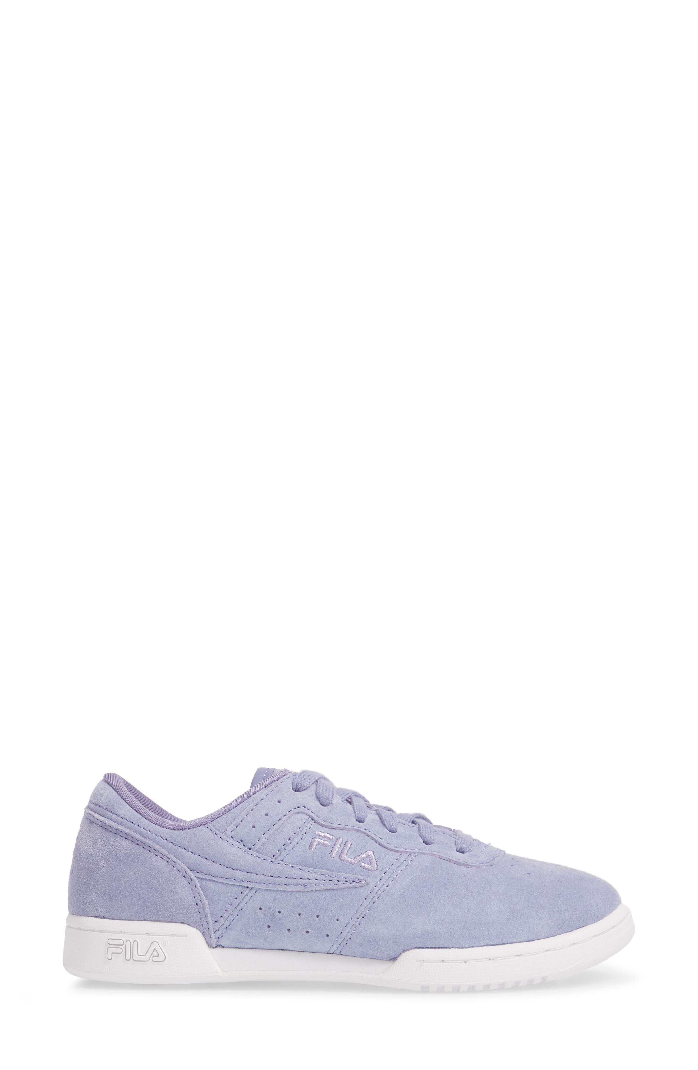 Original Fitness Premium Sneaker,                             Alternate thumbnail 3, color,                             SLAV/ SLAV/ WHT