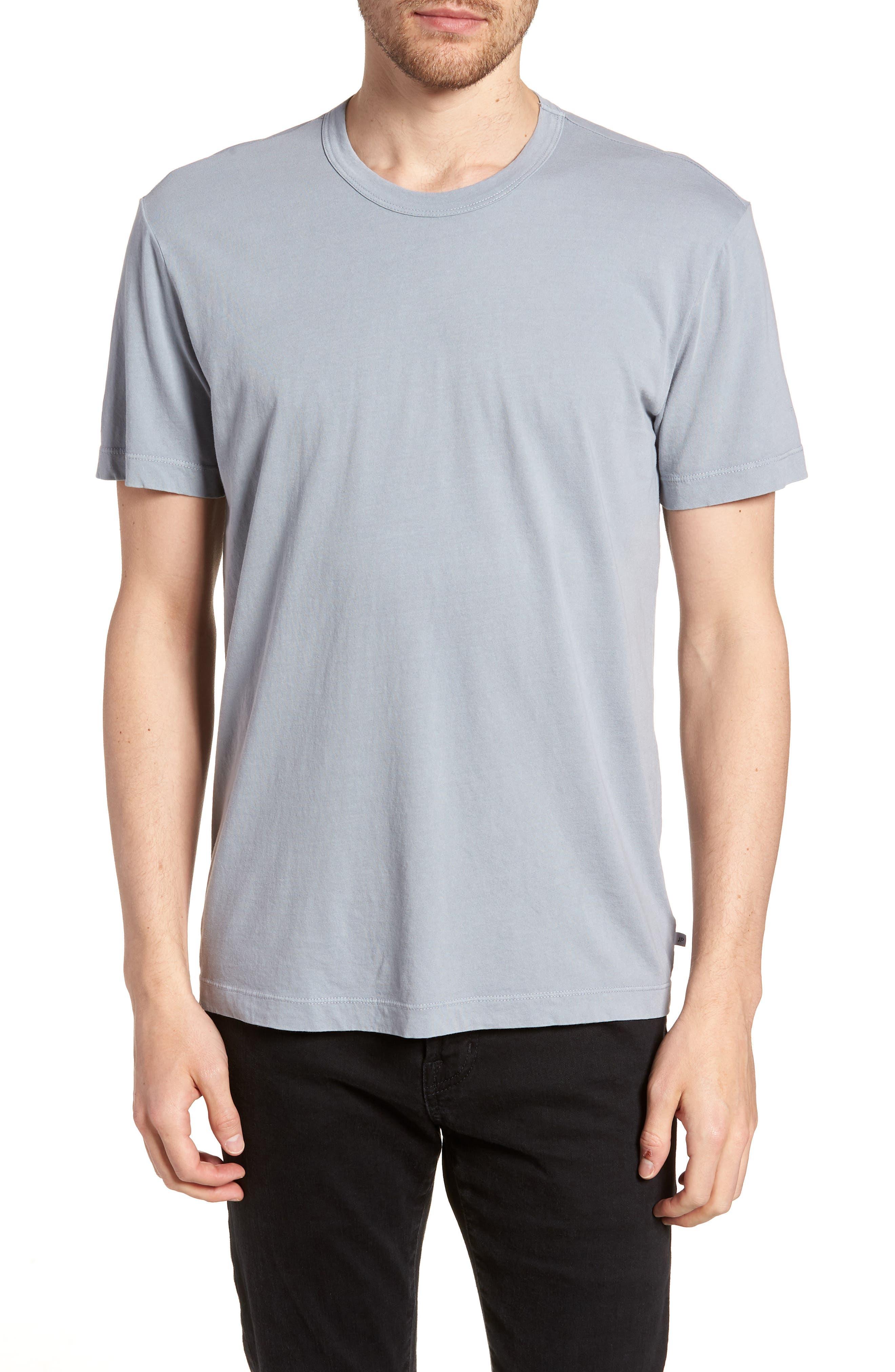 Checkerboard Crewneck T-Shirt,                             Main thumbnail 1, color,
