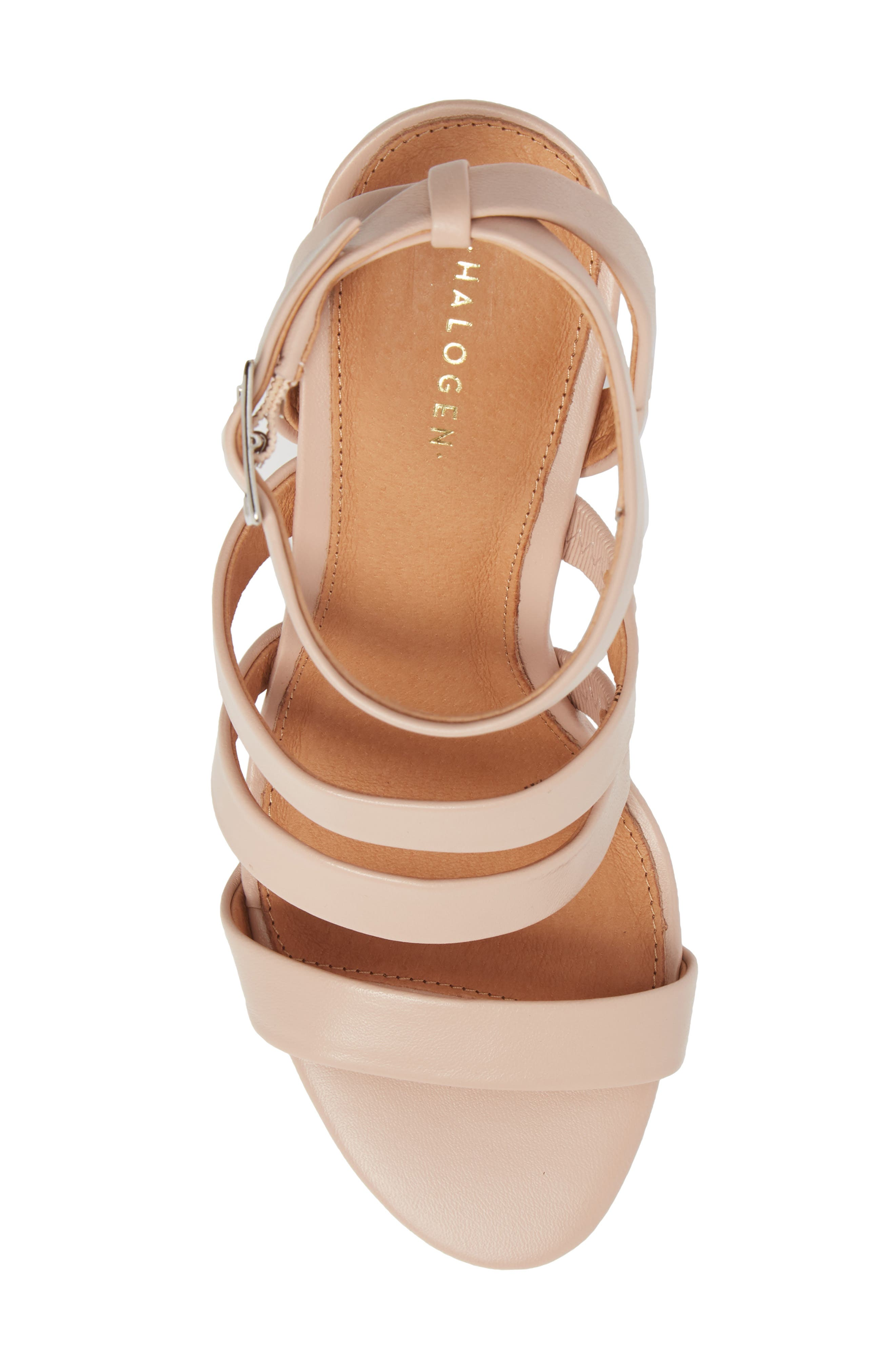 Rocco Sandal,                             Alternate thumbnail 5, color,                             BLUSH LEATHER